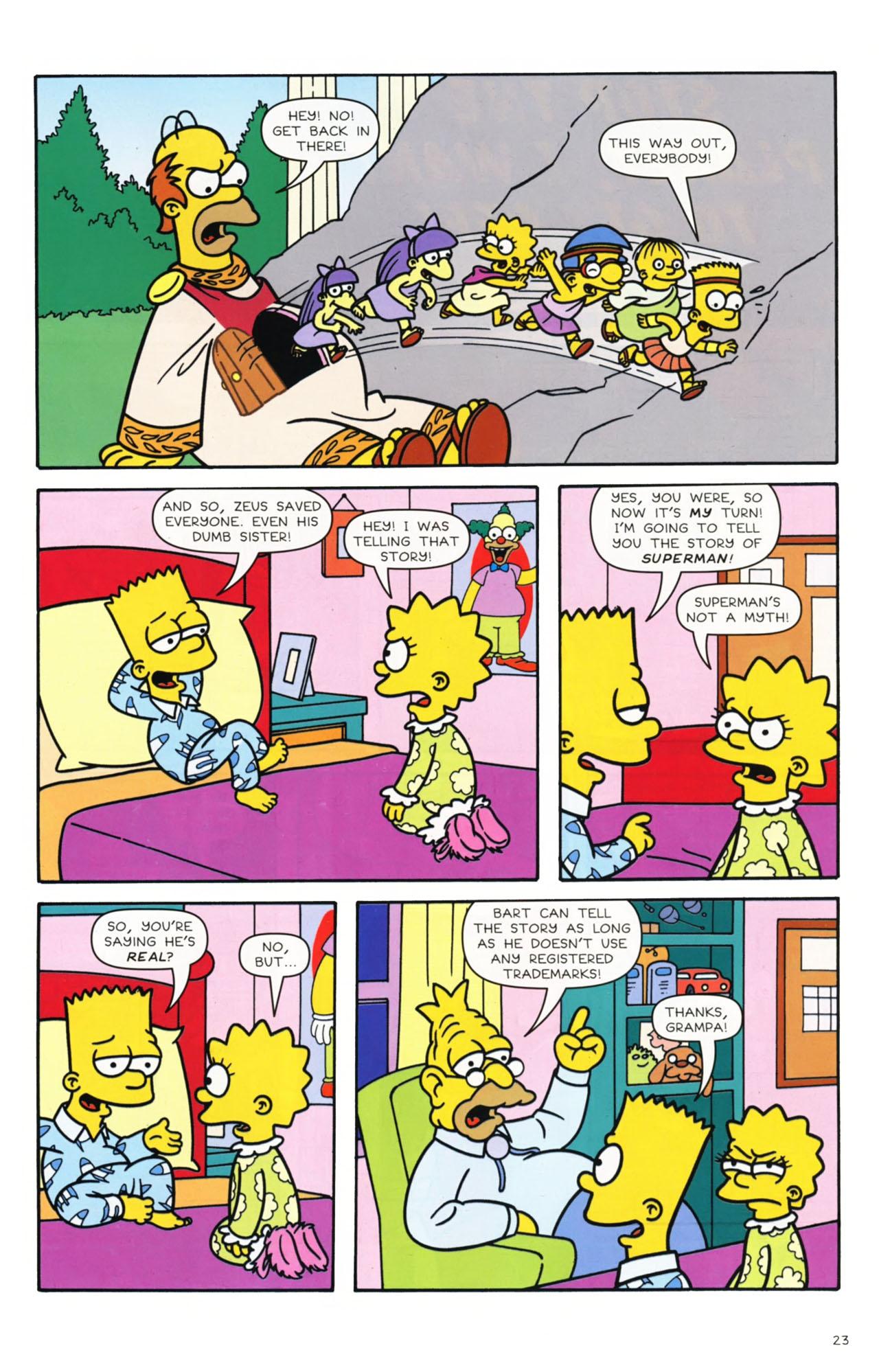 Read online Simpsons Comics comic -  Issue #168 - 18