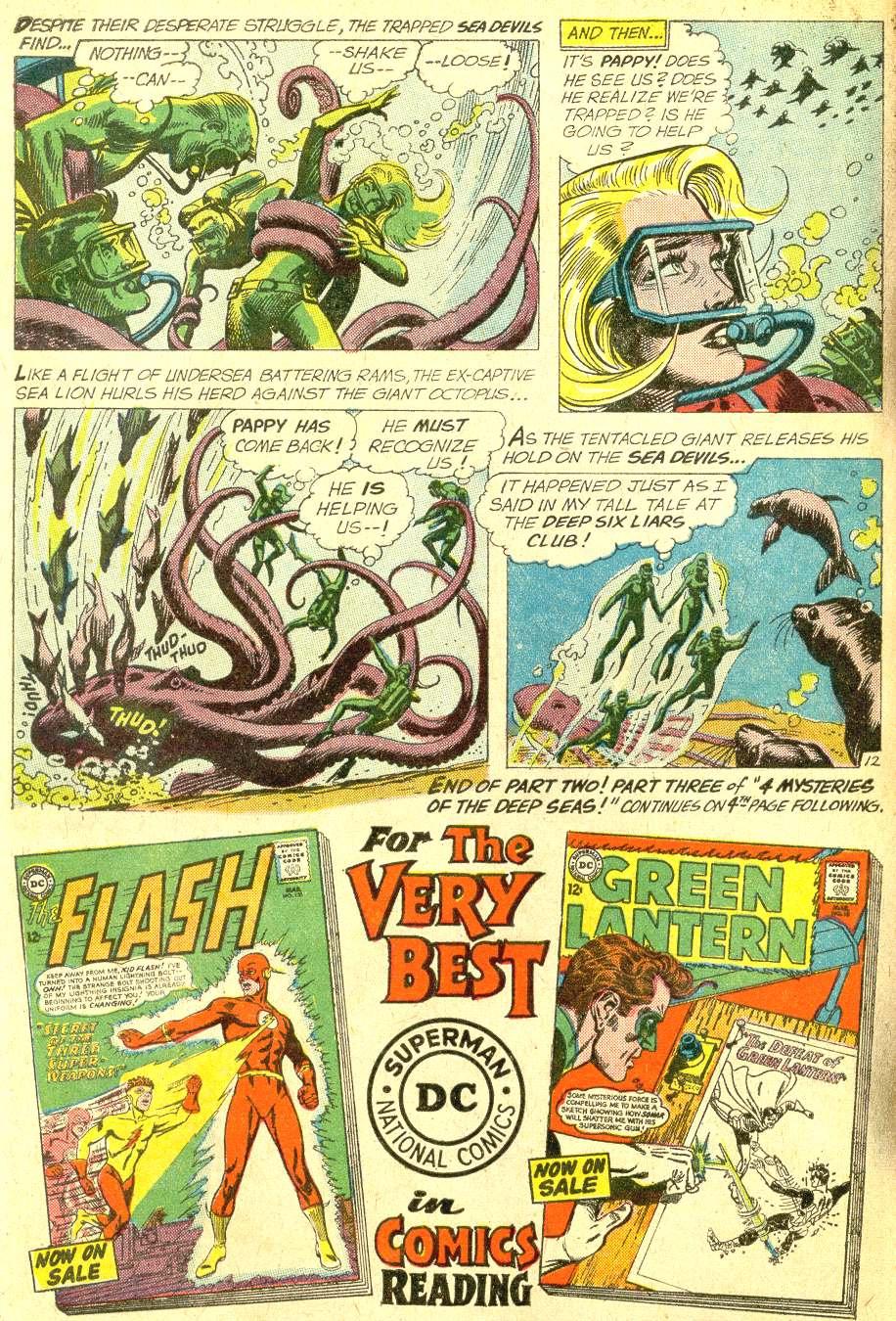 Read online Sea Devils comic -  Issue #10 - 17