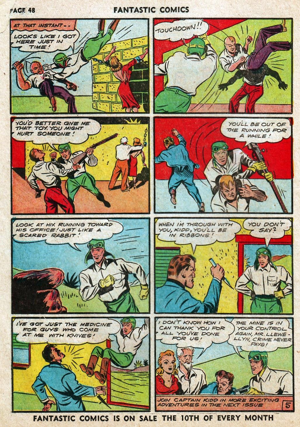 Read online Fantastic Comics comic -  Issue #17 - 49