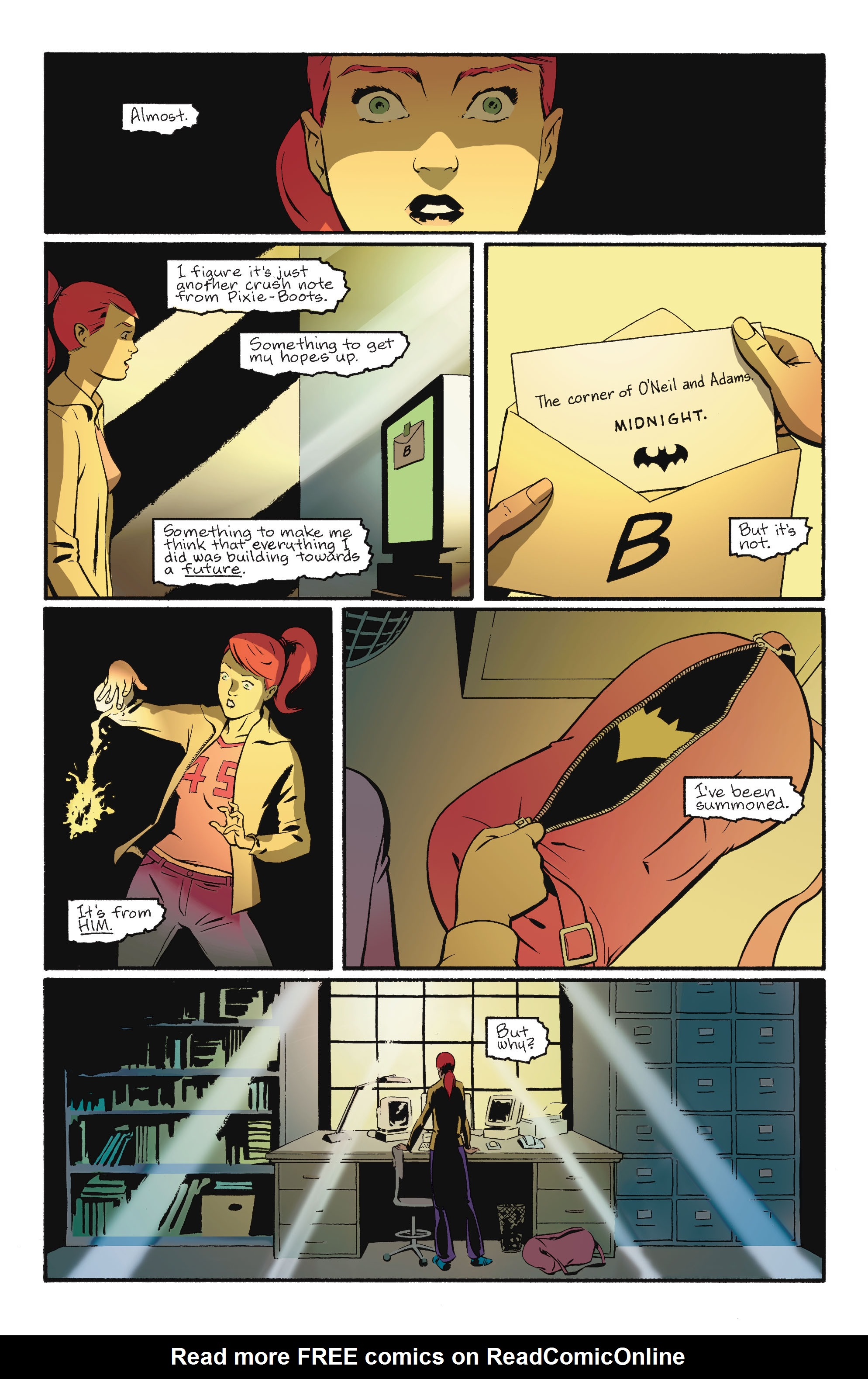 Read online Batgirl/Robin: Year One comic -  Issue # TPB 2 - 189