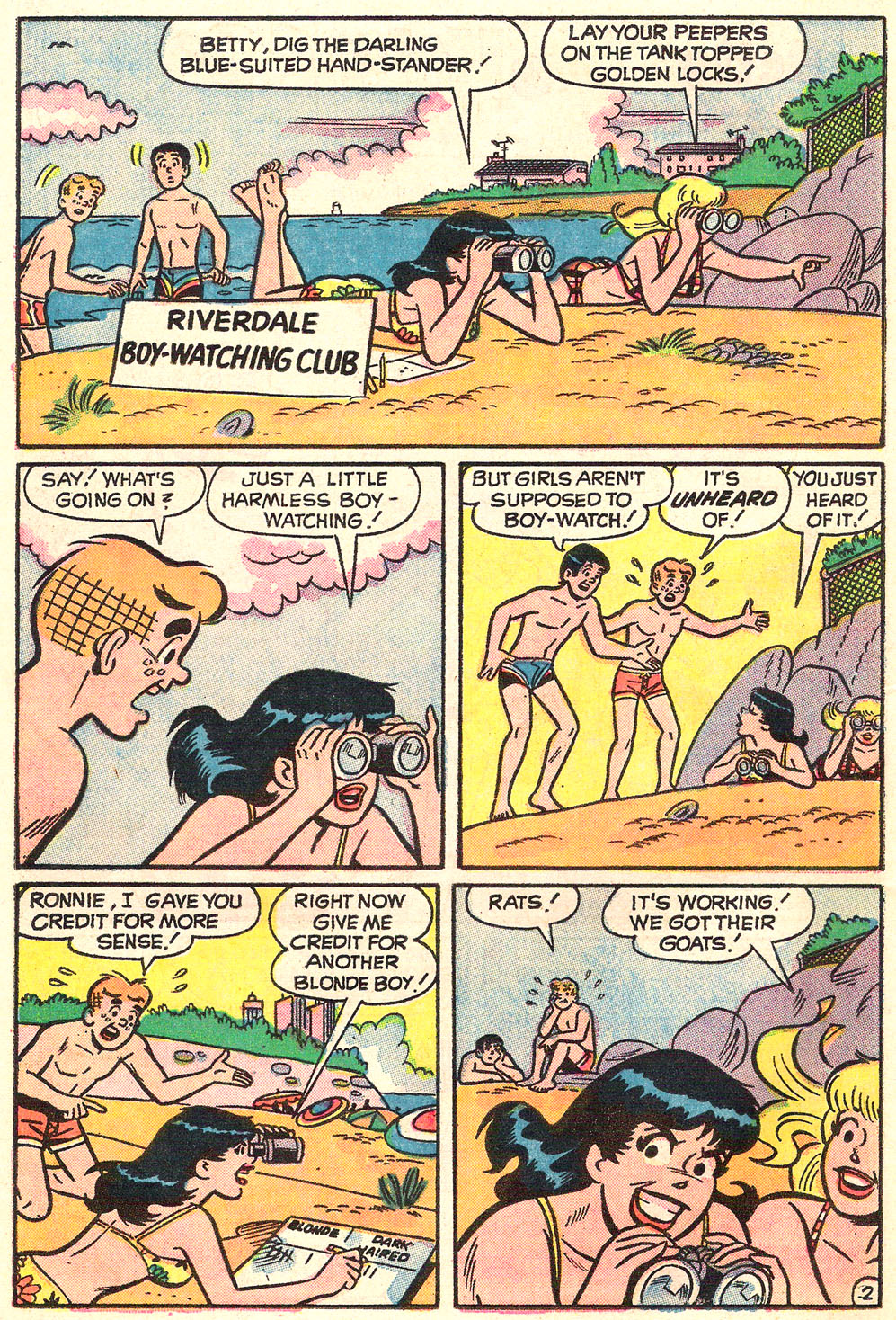 Read online Archie's Girls Betty and Veronica comic -  Issue #214 - 14