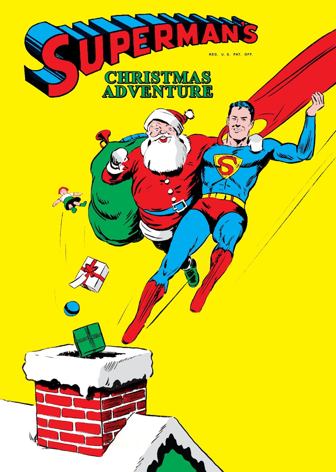 Superman's Christmas Adventure issue Full - Page 1
