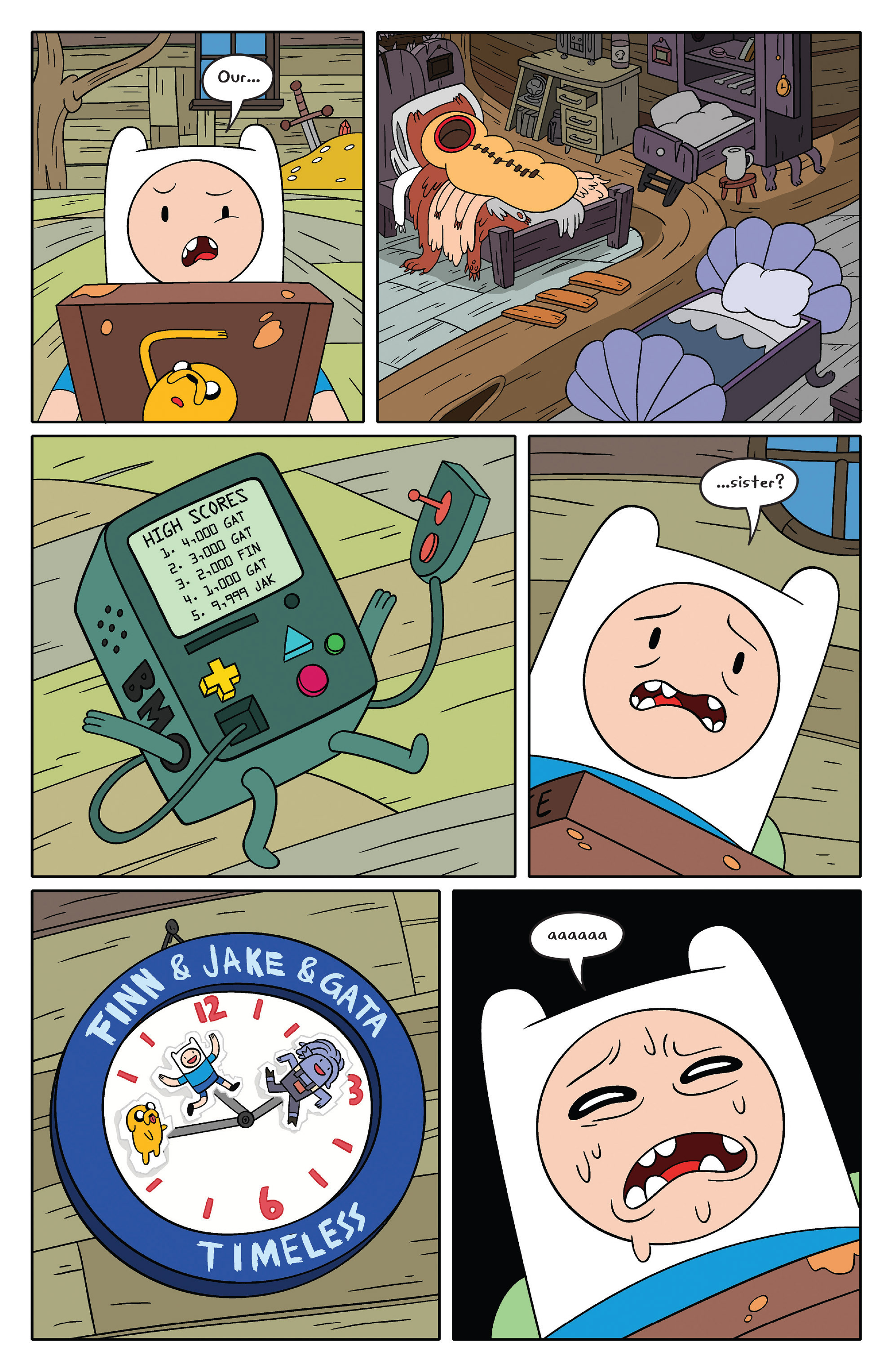 Read online Adventure Time comic -  Issue #46 - 15
