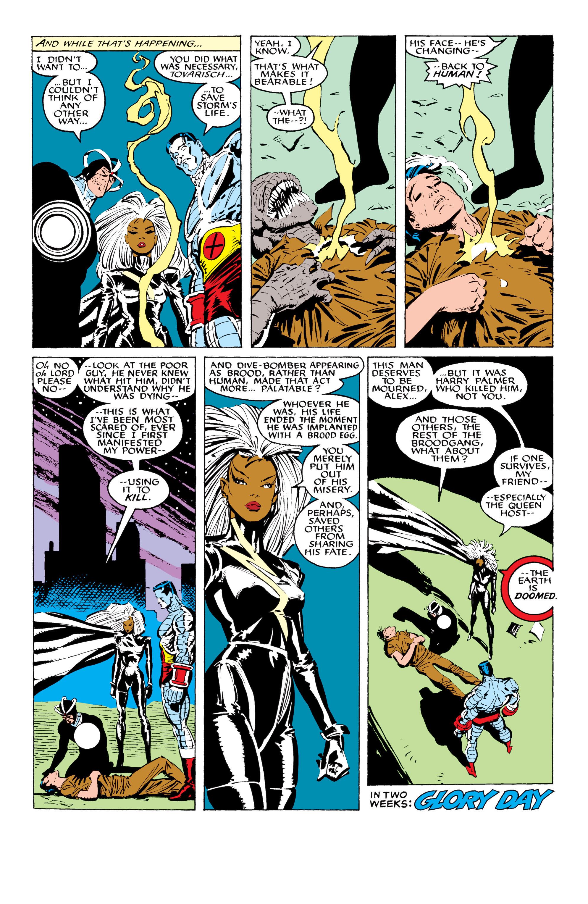 Read online Uncanny X-Men (1963) comic -  Issue #233 - 22
