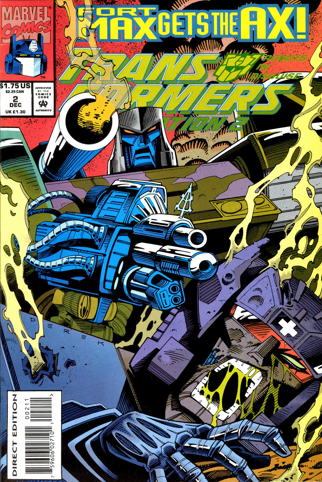 Read online Transformers: Generation 2 comic -  Issue #2 - 1