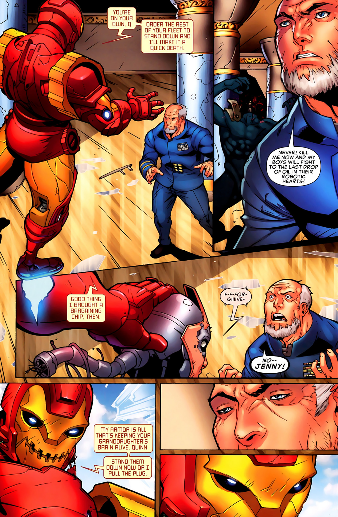 Read online Astonishing Tales (2009) comic -  Issue #6 - 15