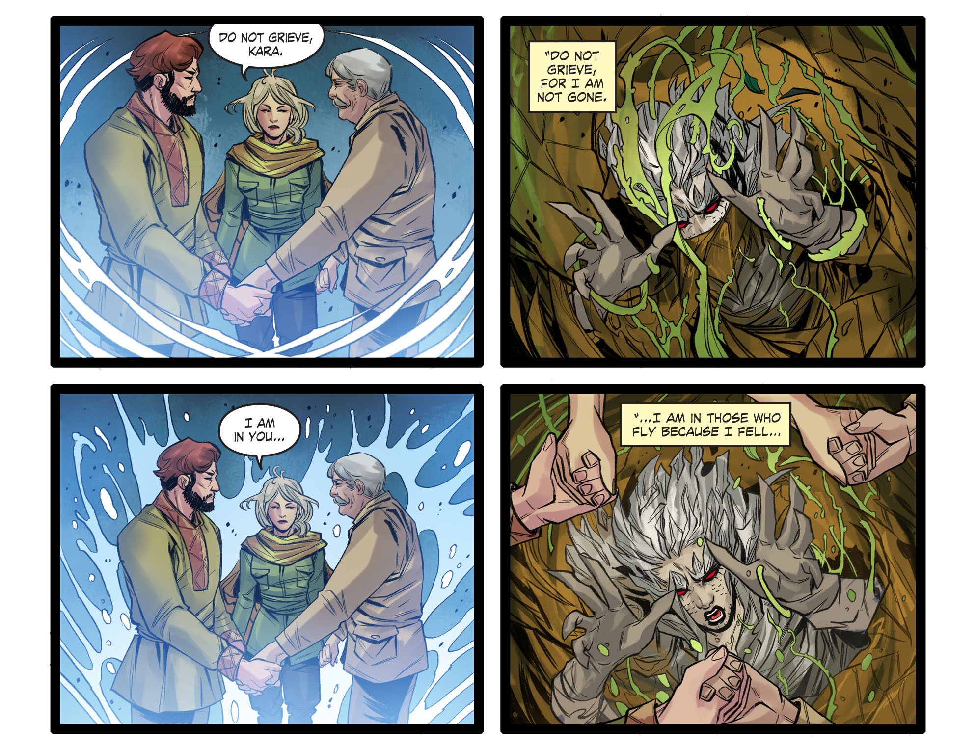 Read online DC Comics: Bombshells comic -  Issue #99 - 22