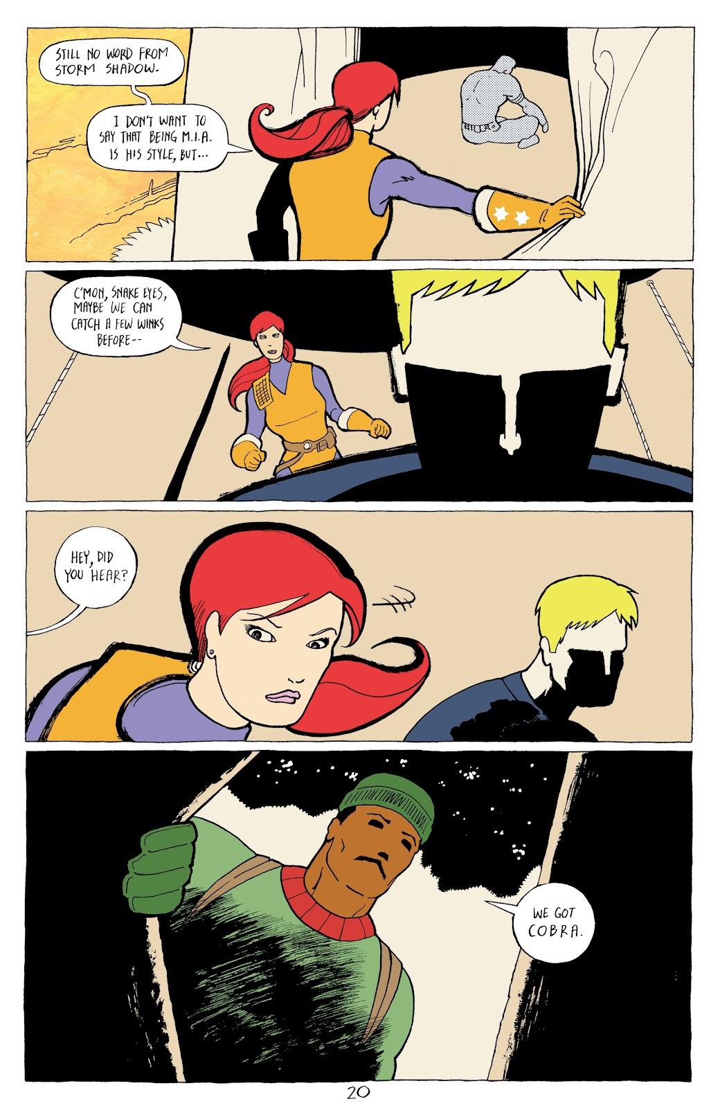 Read online G.I. Joe: Sierra Muerte comic -  Issue #2 - 22