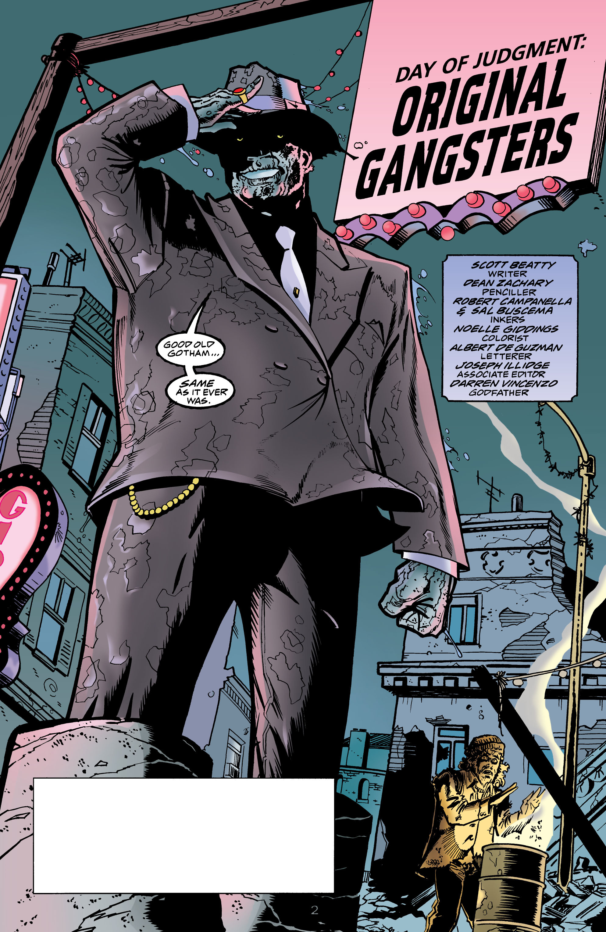 Read online Batman: Day of Judgment comic -  Issue # Full - 3