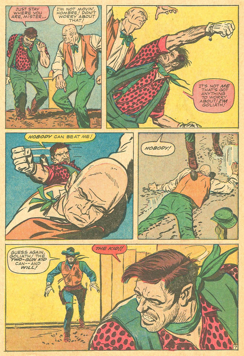 Read online Two-Gun Kid comic -  Issue #69 - 11
