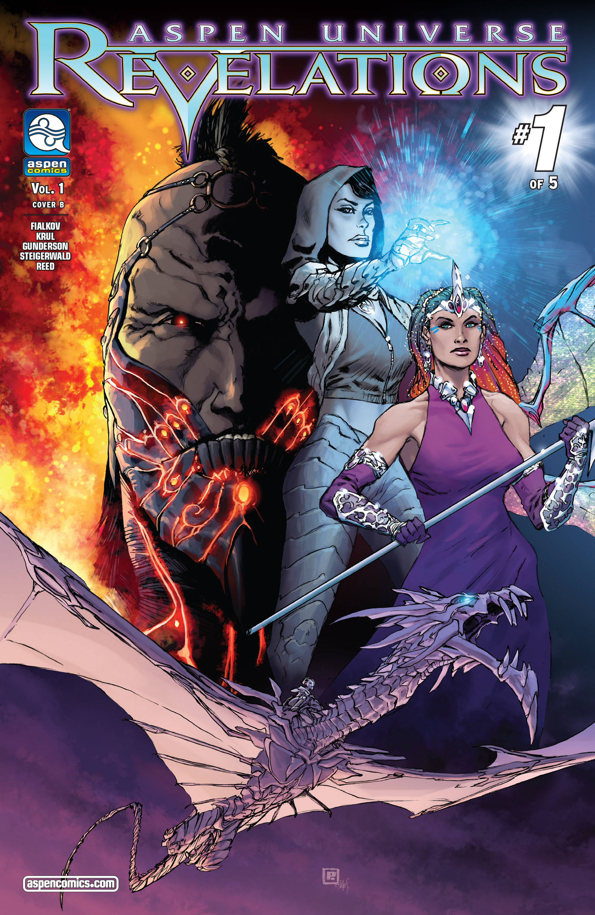Read online Aspen Universe: Revelations comic -  Issue #1 - 2
