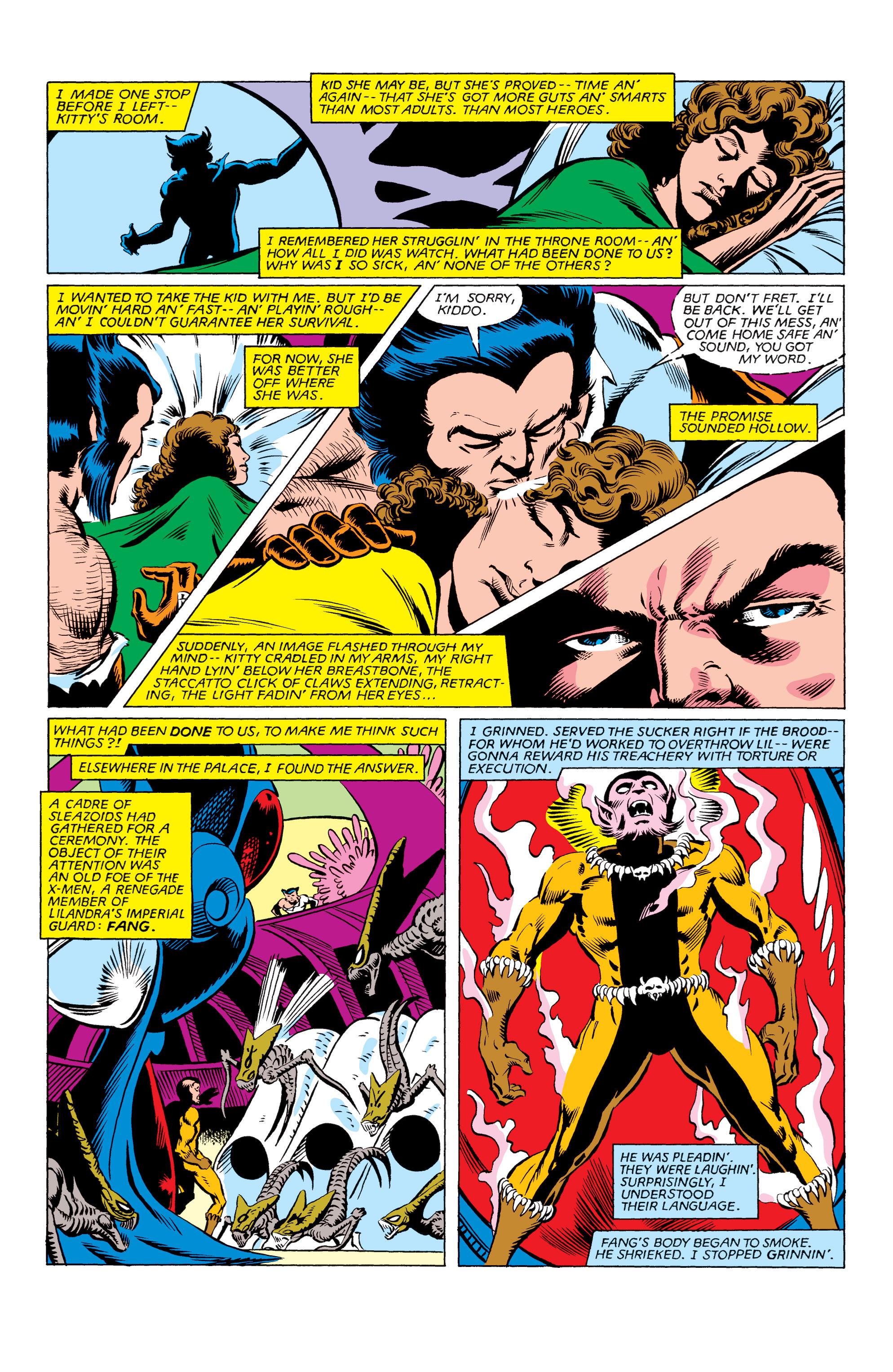 Read online Uncanny X-Men (1963) comic -  Issue #162 - 16