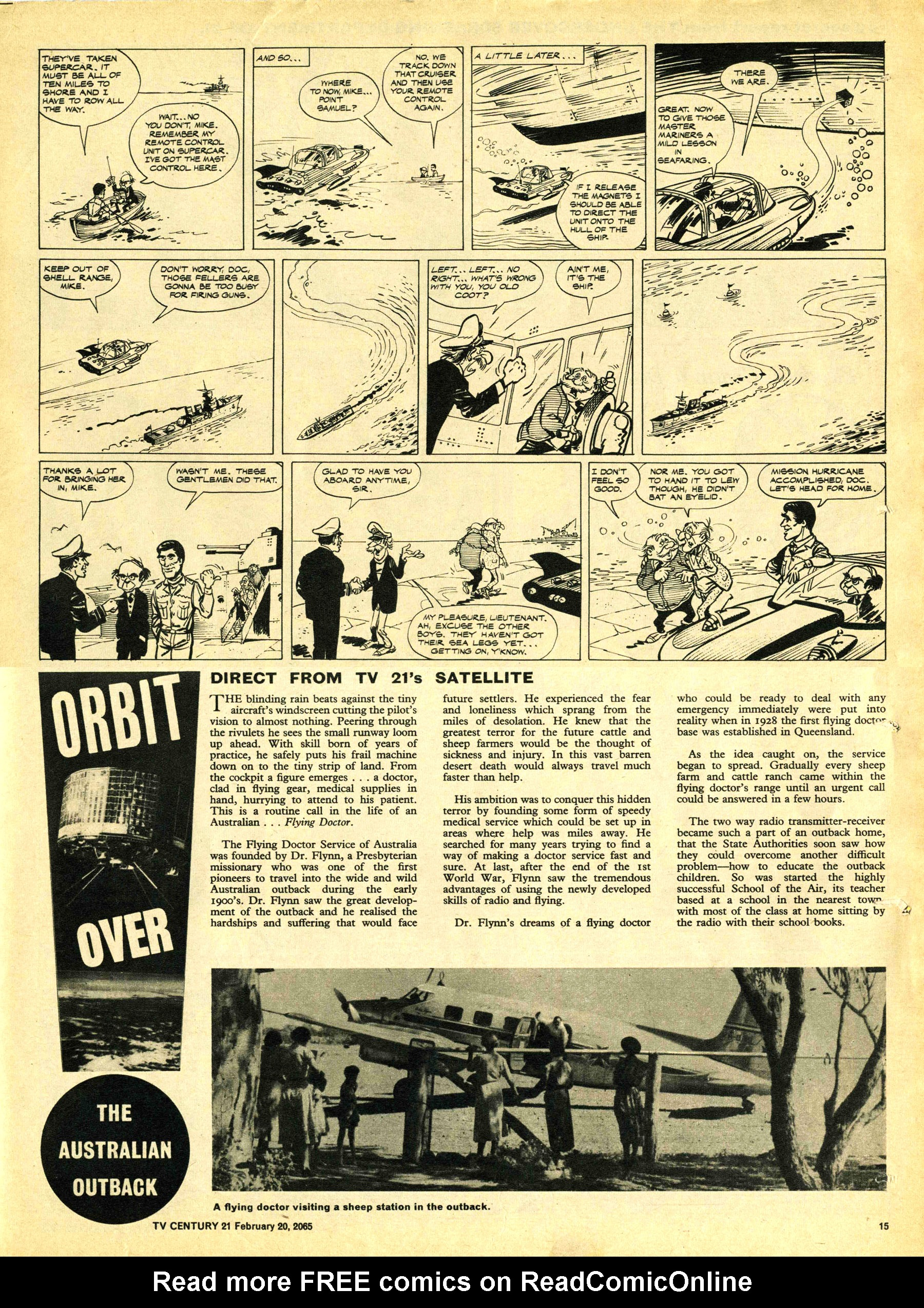 Read online TV Century 21 (TV 21) comic -  Issue #5 - 14