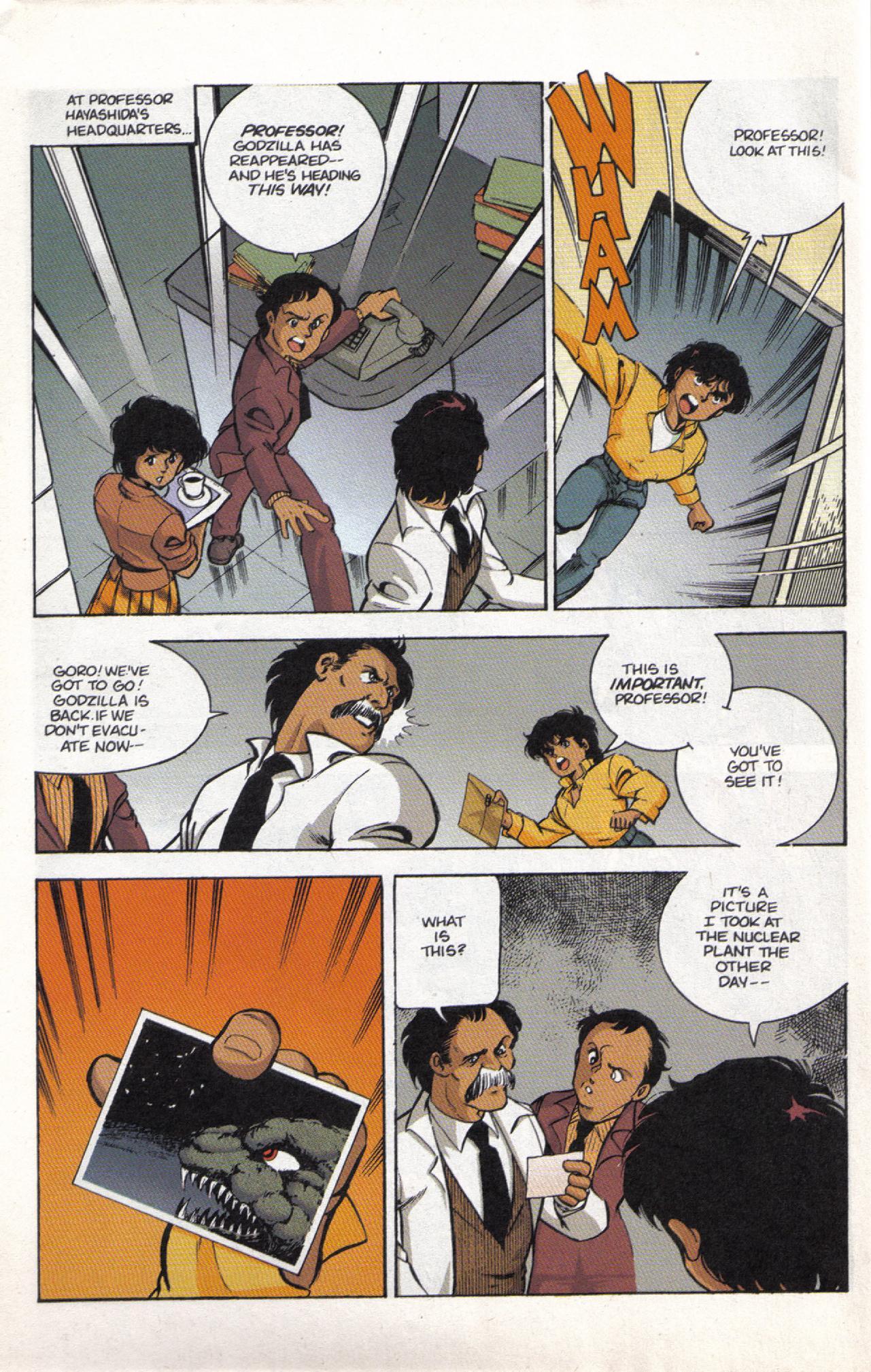 Read online Dark Horse Classics: Terror of Godzilla comic -  Issue #3 - 30