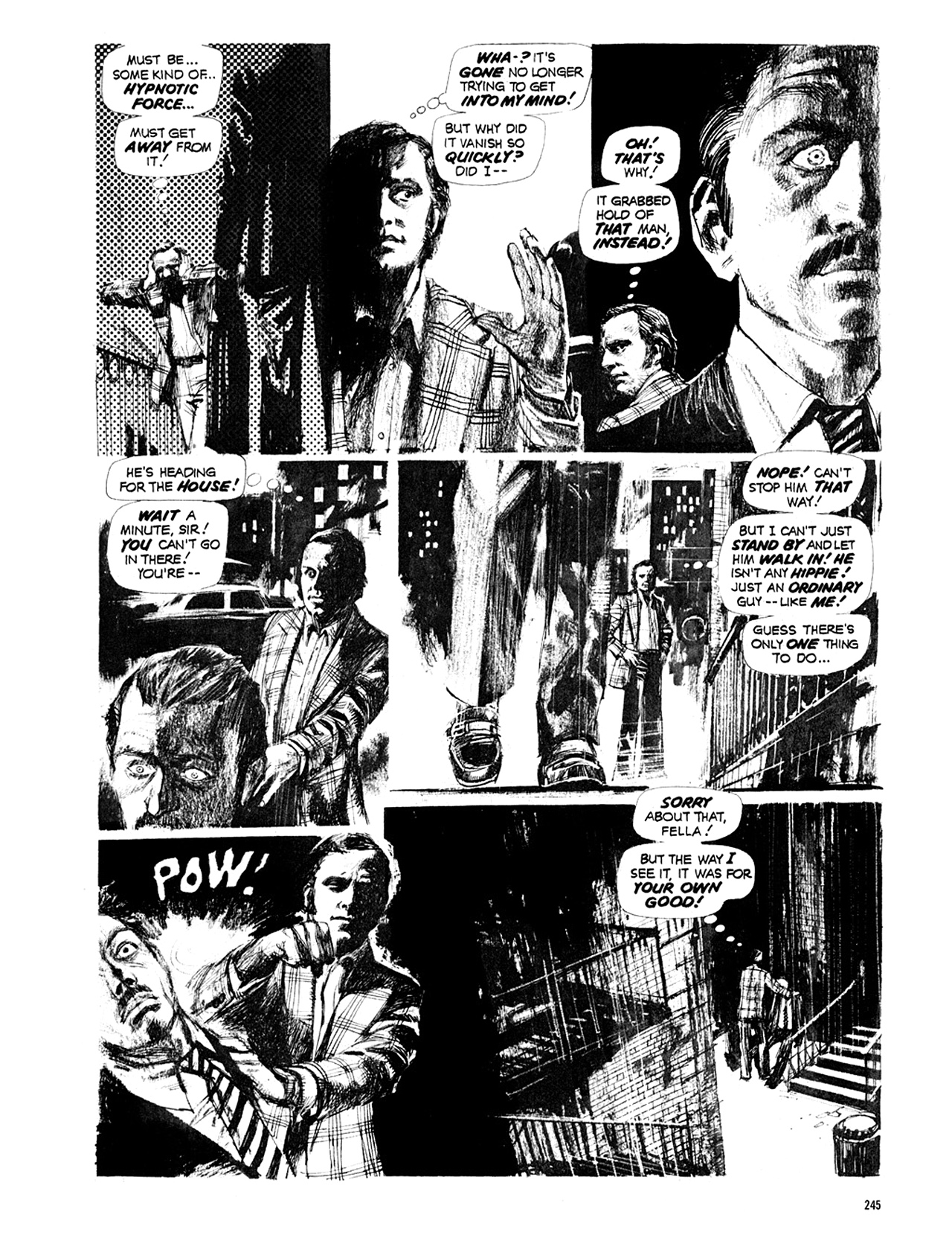 Read online Eerie Archives comic -  Issue # TPB 10 - 246