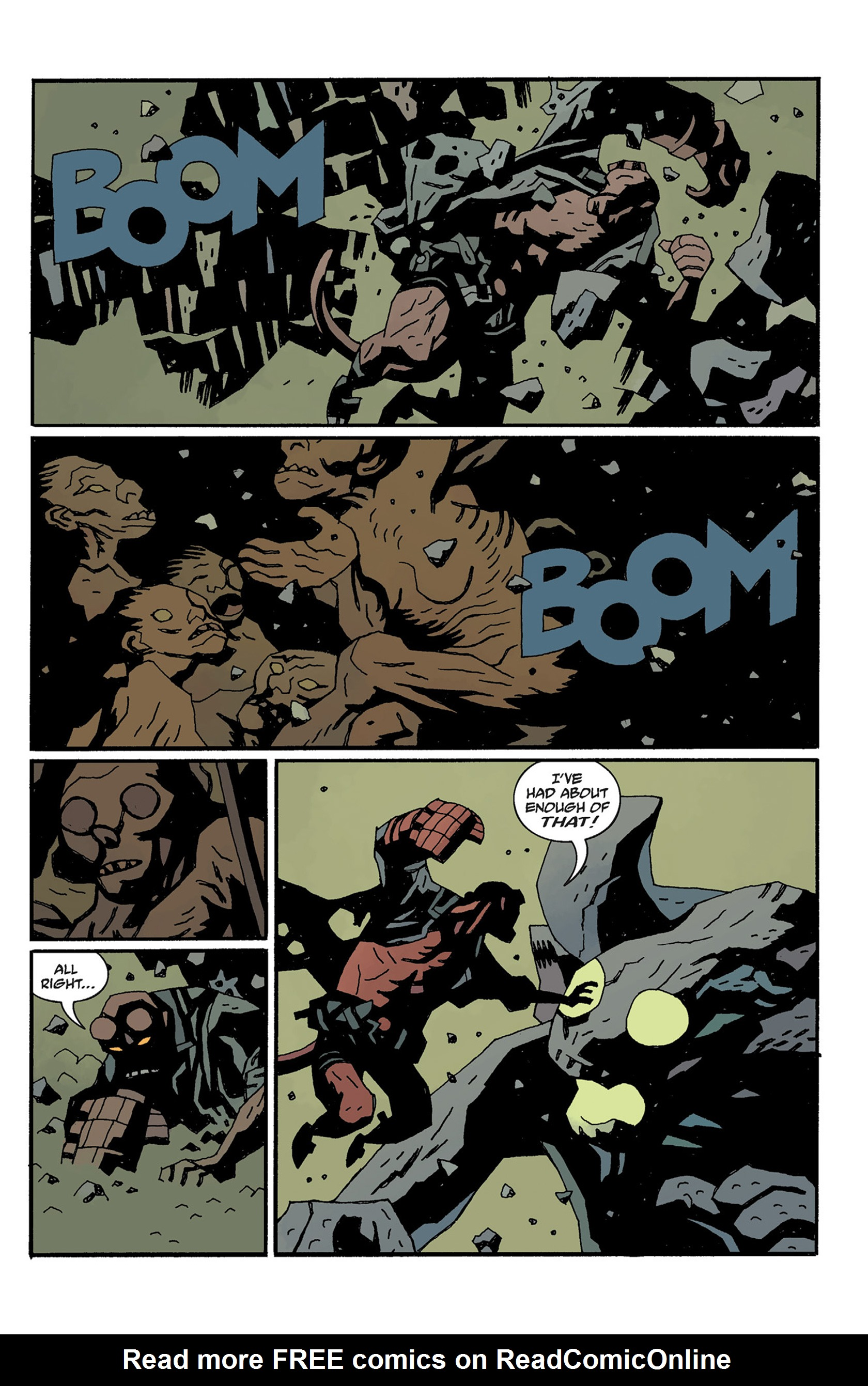 Read online Hellboy: The Crooked Man and Others comic -  Issue # TPB - 129