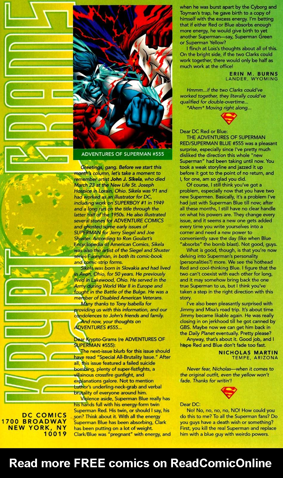 Read online Adventures of Superman (1987) comic -  Issue #560 - 24