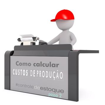 cálculo de custos controle de estoque