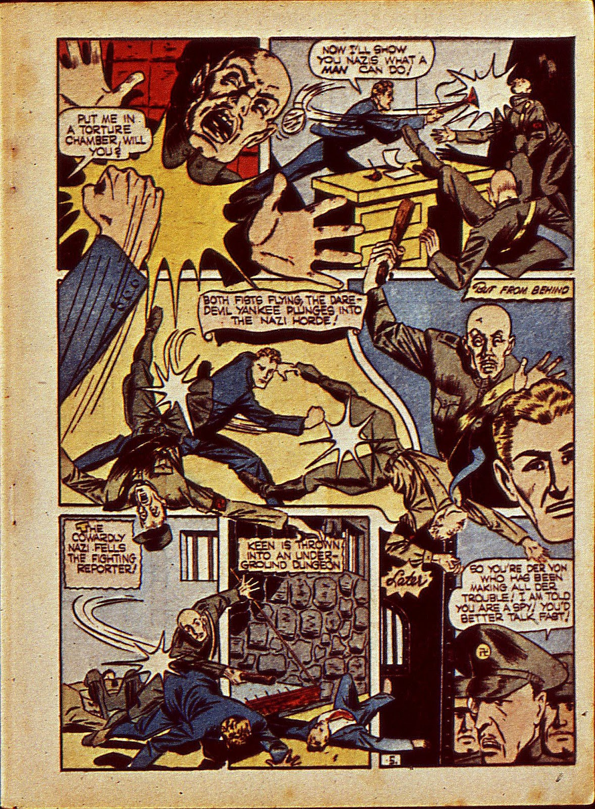 Mystic Comics (1940) issue 6 - Page 8
