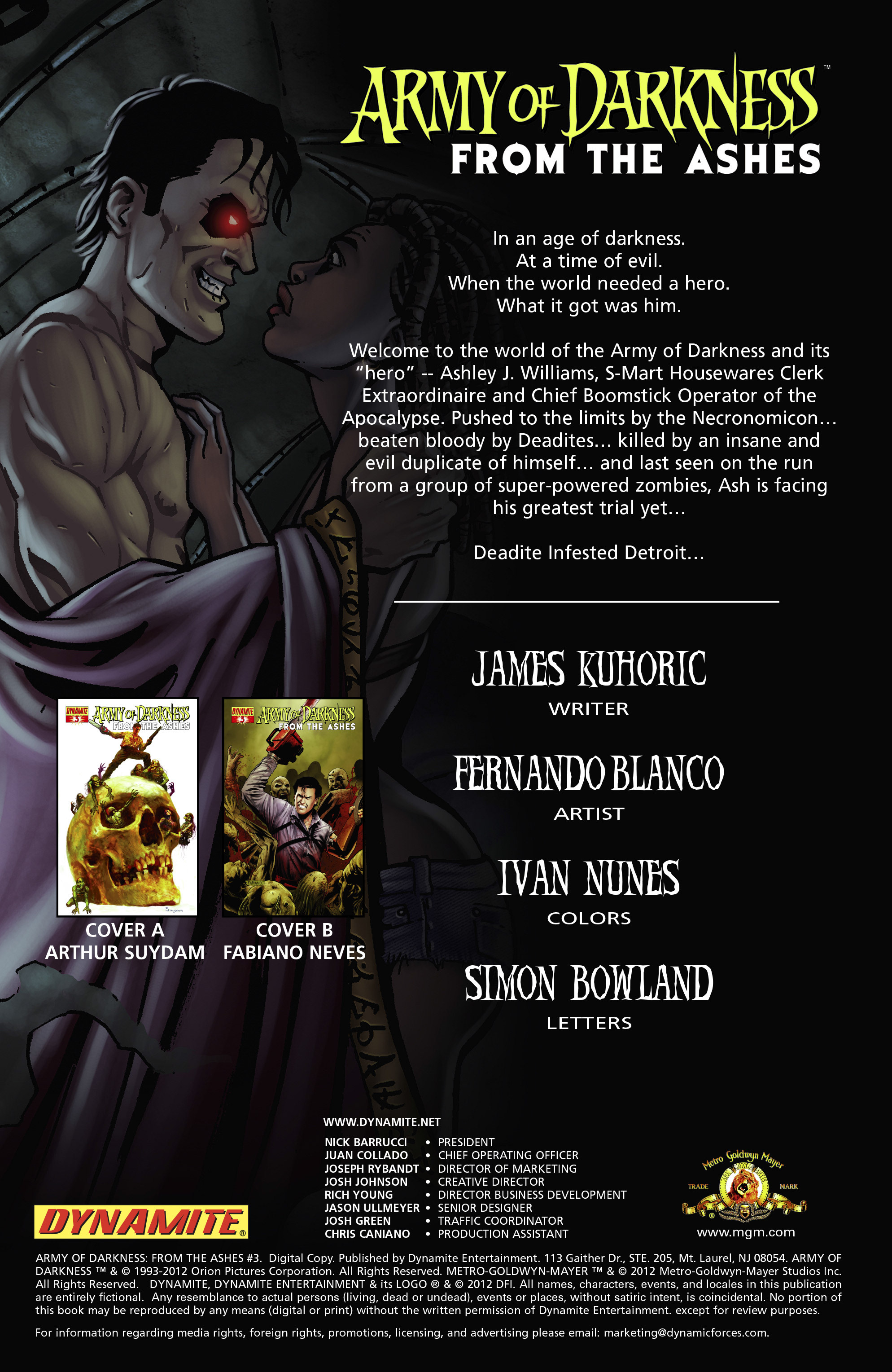 Read online Army of Darkness: From the Ashes comic -  Issue #Army of Darkness: From the Ashes TPB - 54