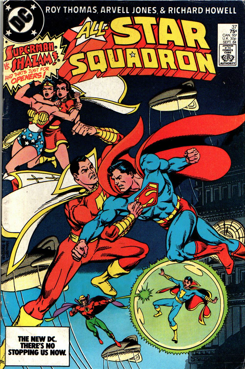 Read online All-Star Squadron comic -  Issue #37 - 1