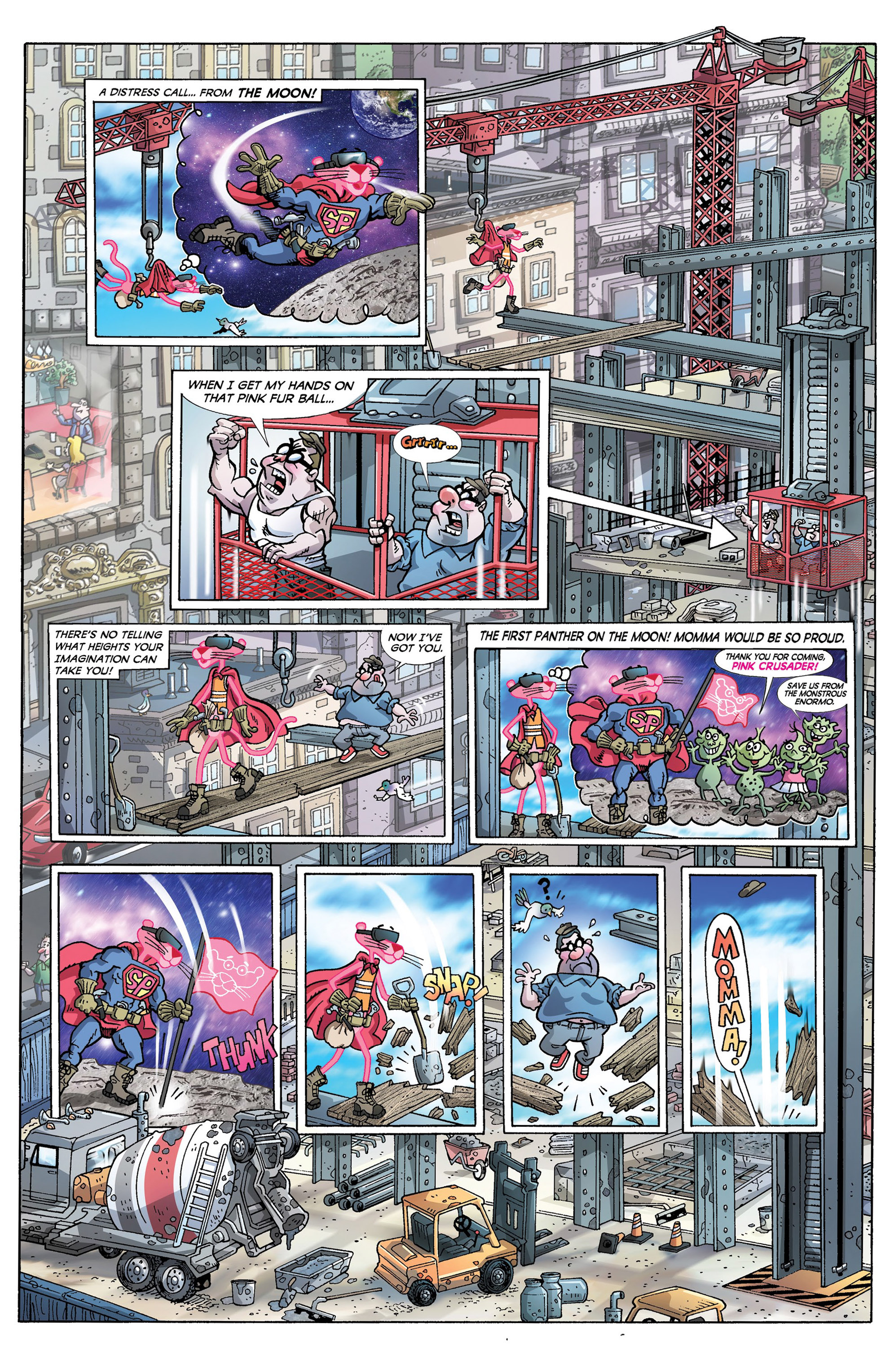 Read online Pink Panther Super-Pink Special comic -  Issue # Full - 8