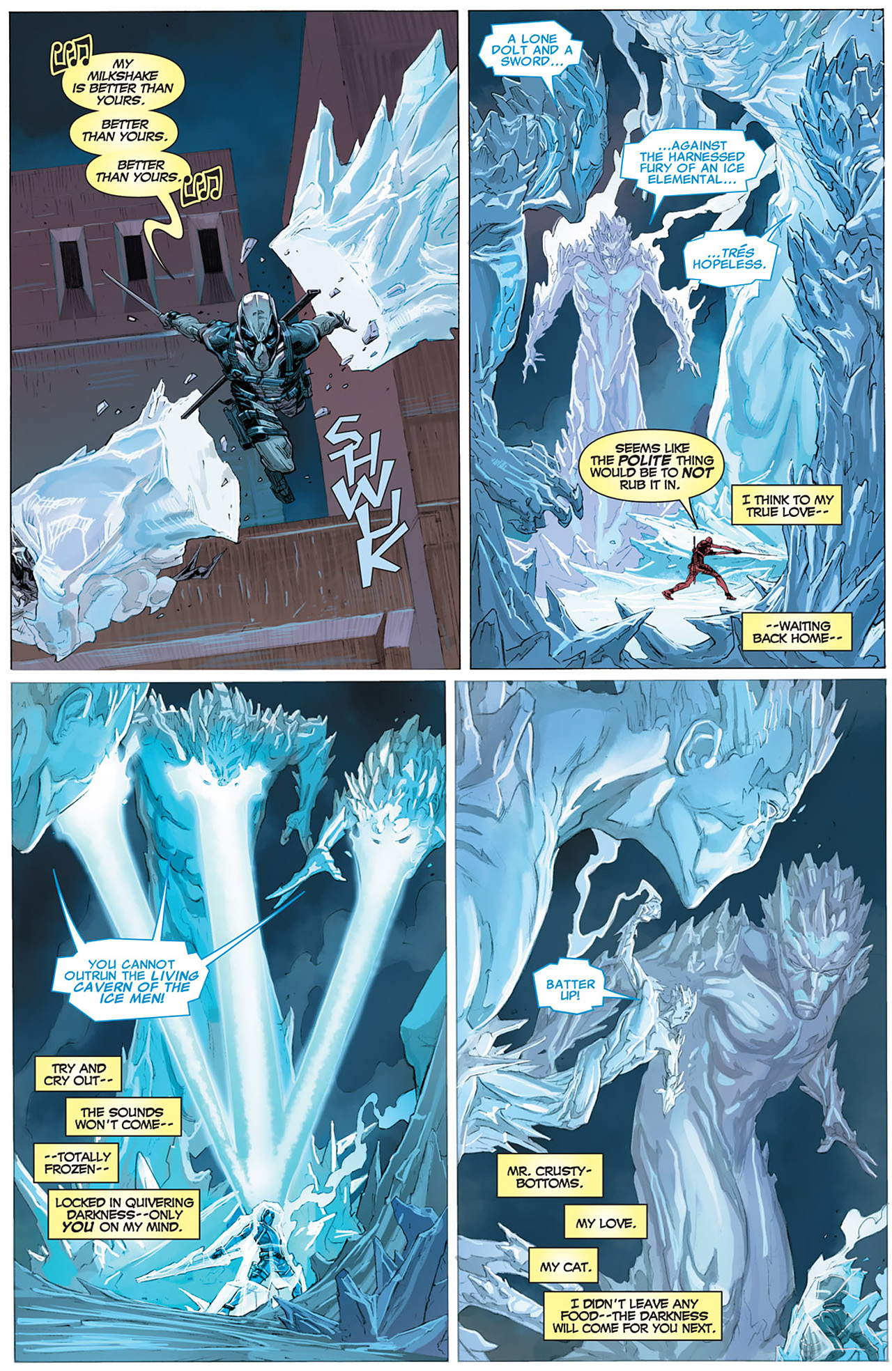 Read online Uncanny X-Force (2010) comic -  Issue #16 - 17