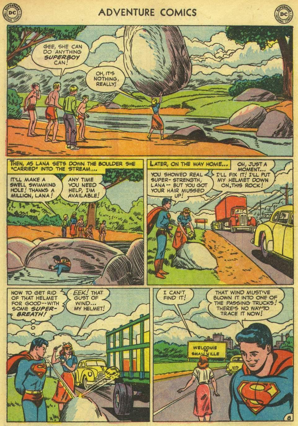 Read online Adventure Comics (1938) comic -  Issue #167 - 10