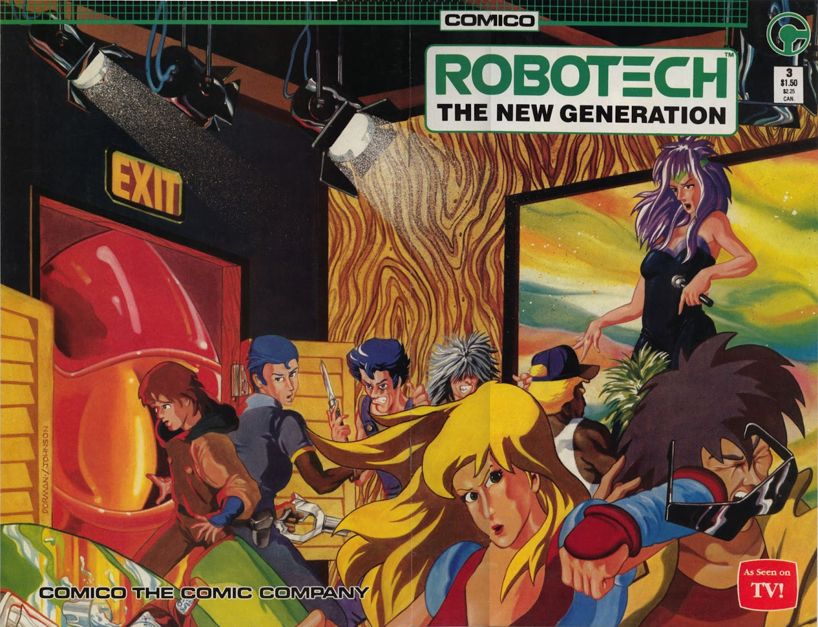 Robotech The New Generation issue 3 - Page 1