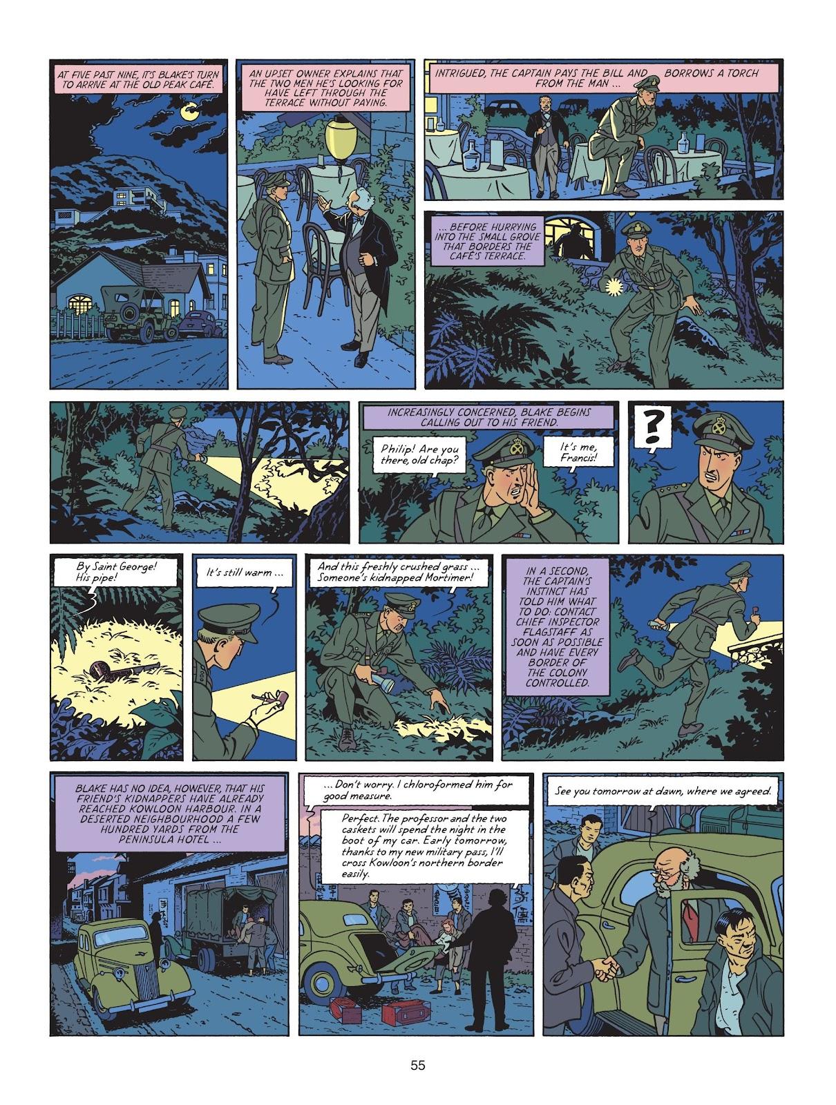 Read online Blake & Mortimer comic -  Issue #25 - 57