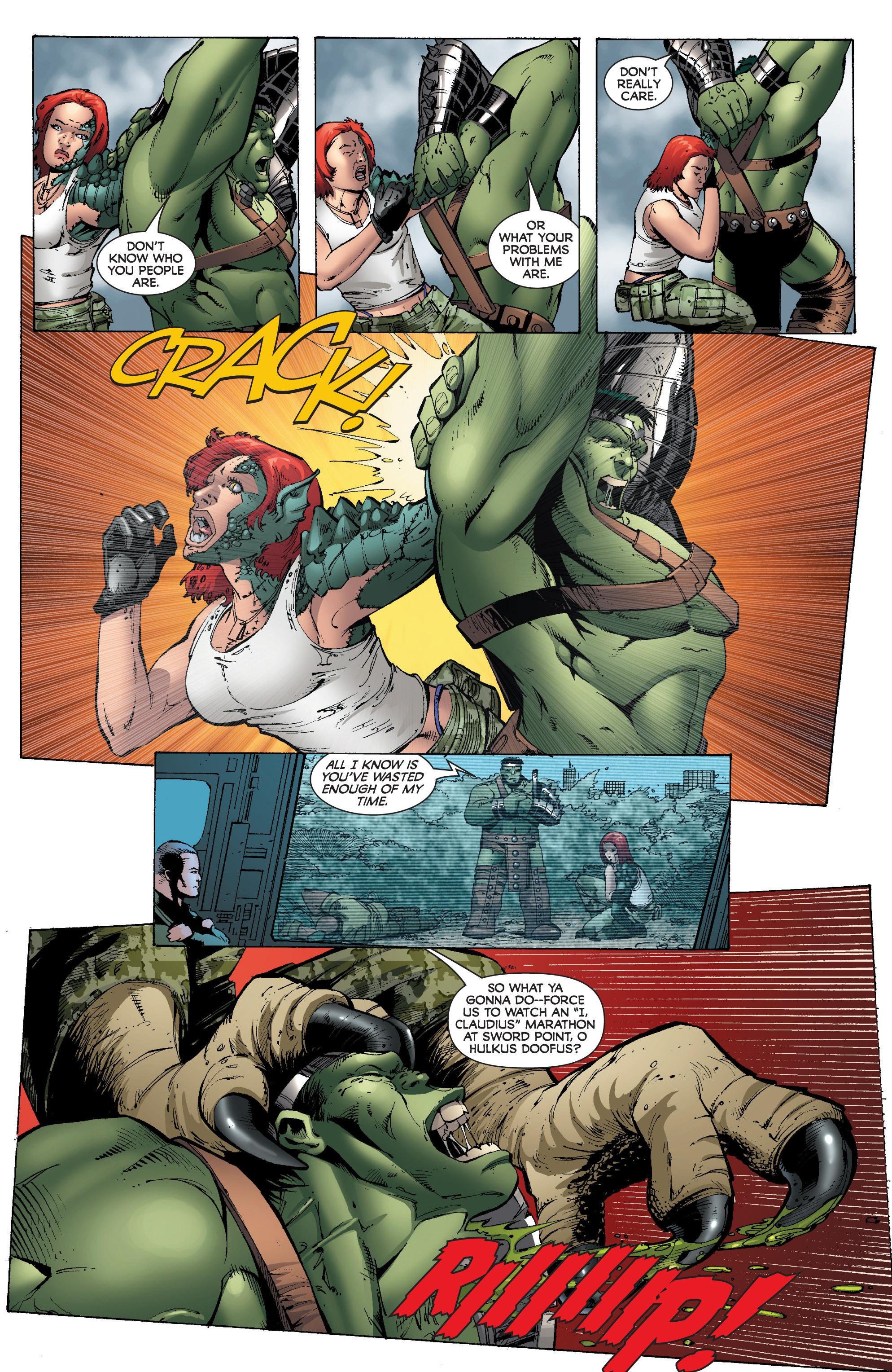 Read online World War Hulk: Gamma Corps comic -  Issue #3 - 21