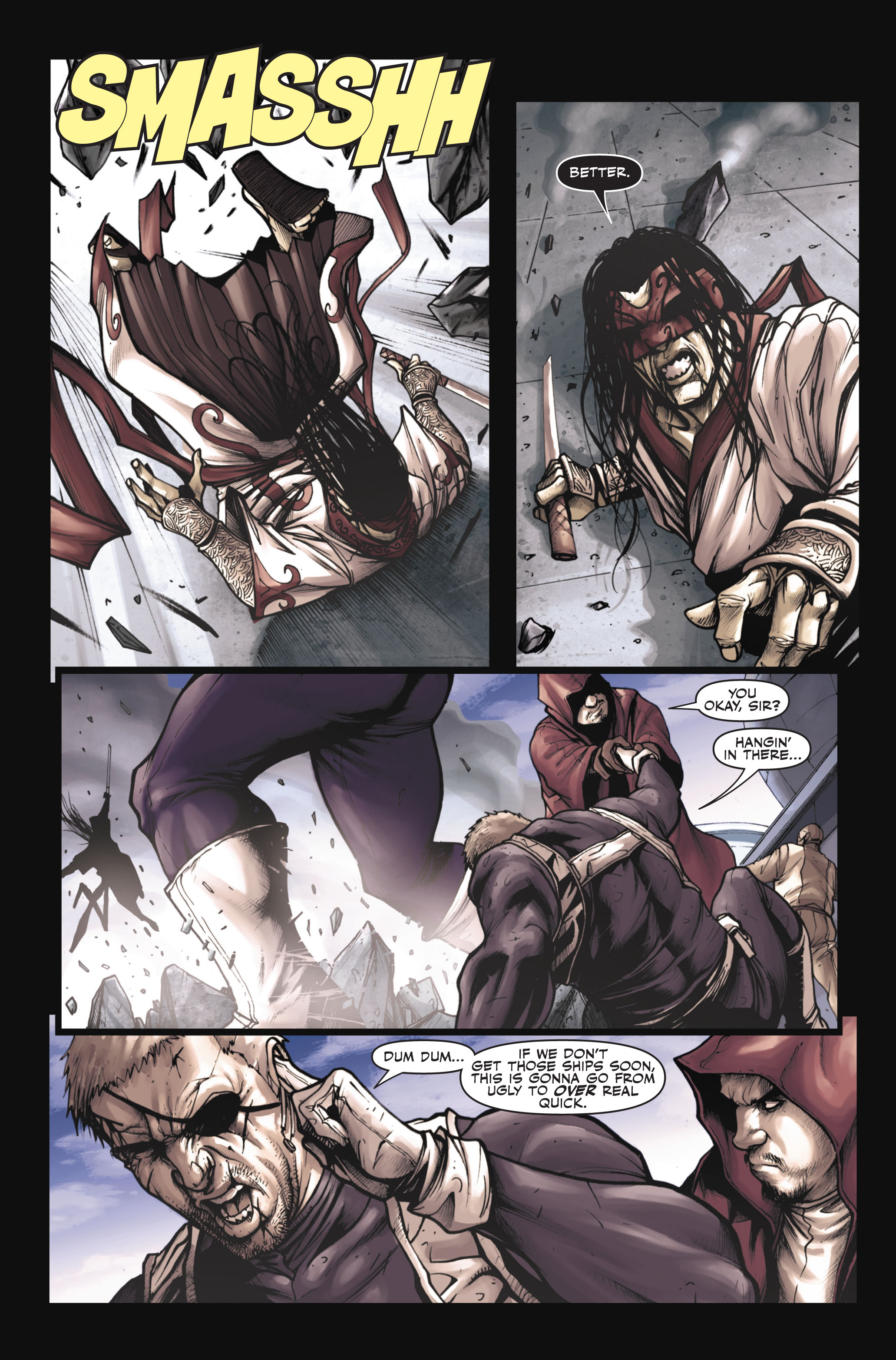 Read online Secret Warriors comic -  Issue #6 - 10