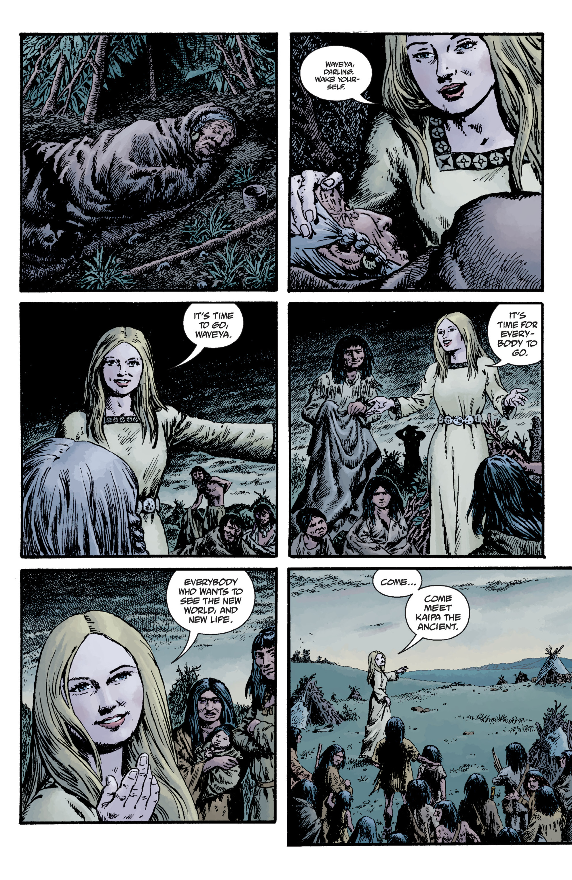 Read online Sir Edward Grey, Witchfinder: Lost and Gone Forever comic -  Issue # TPB - 59