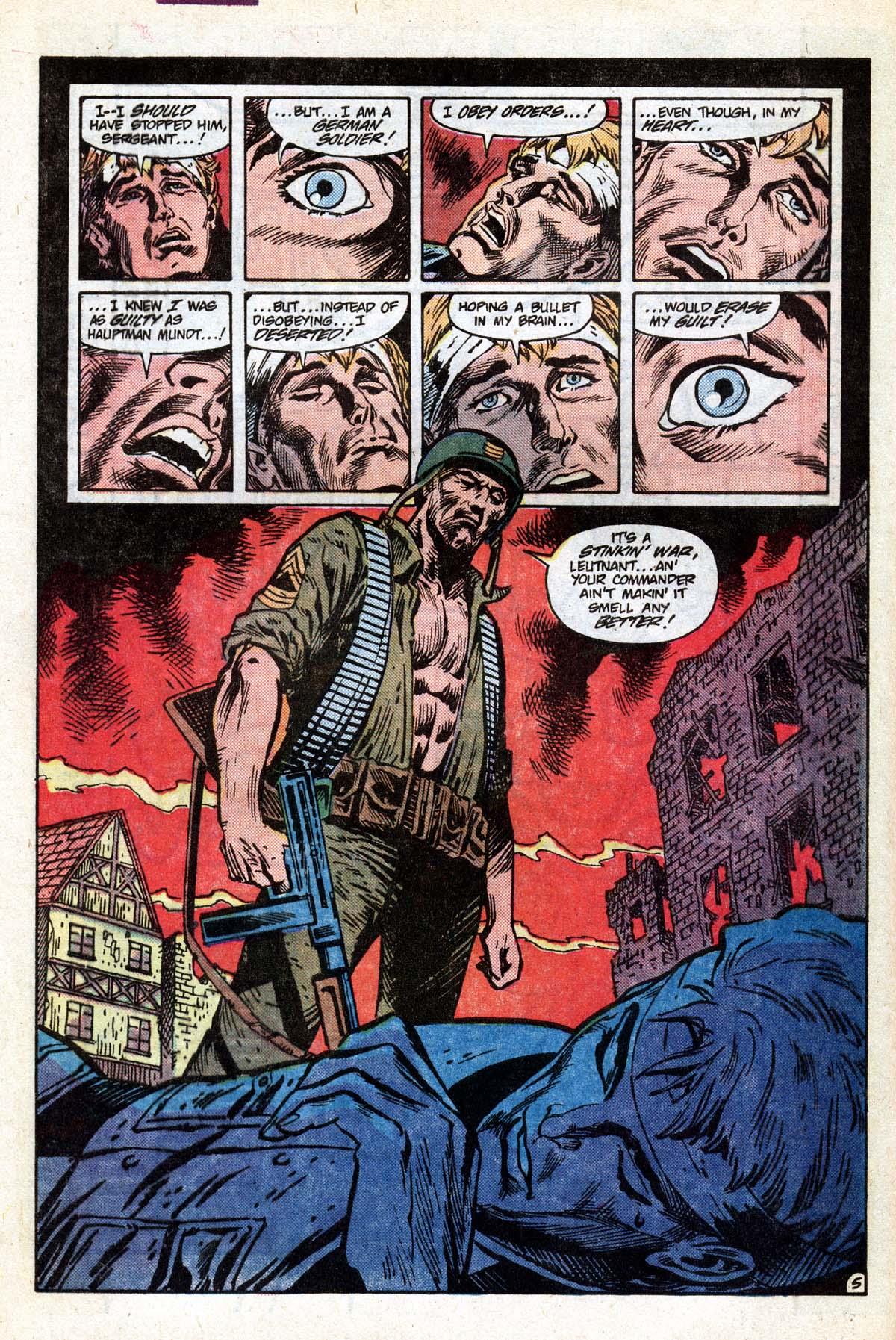 Read online Sgt. Rock comic -  Issue #391 - 6