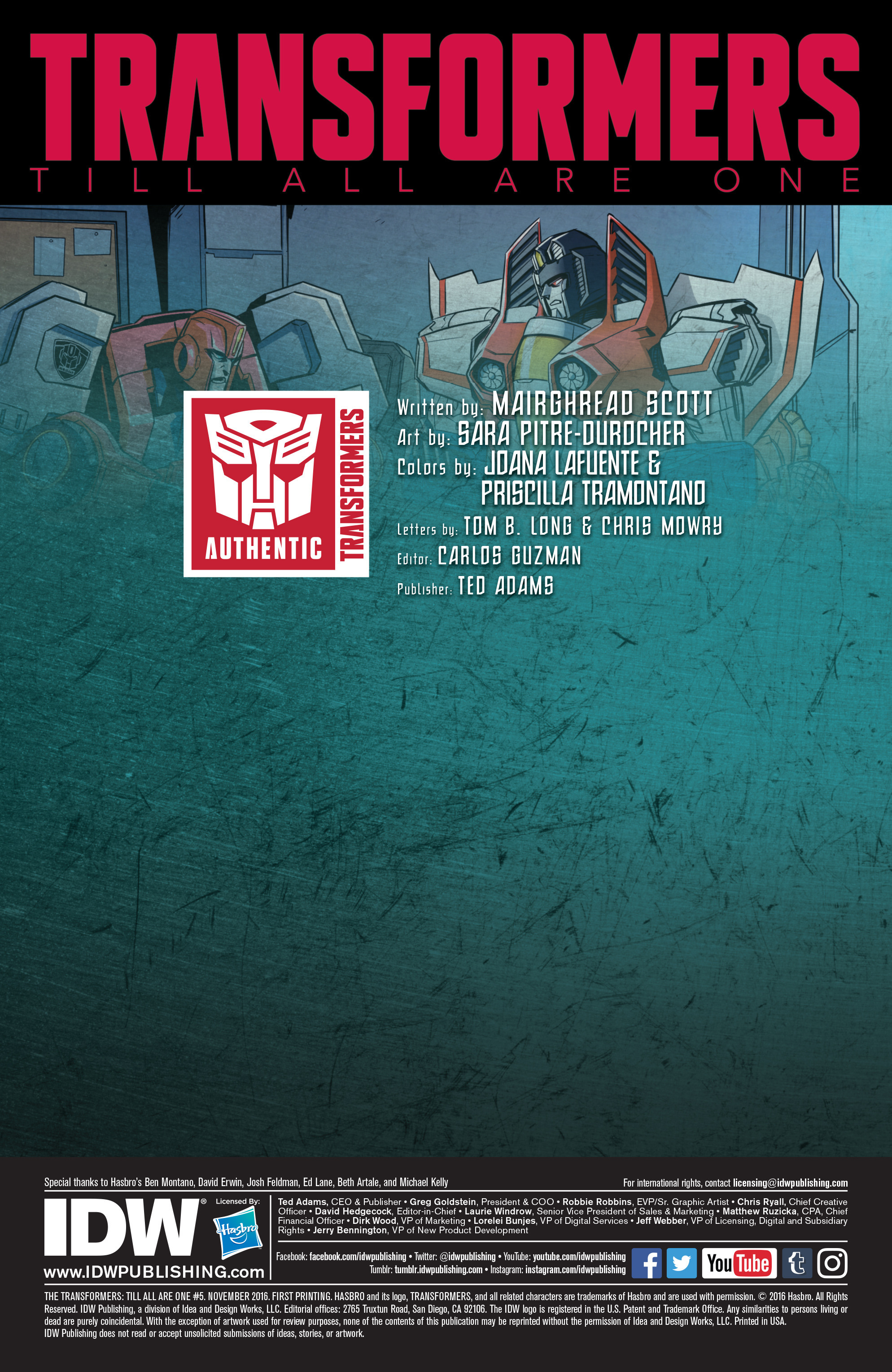 Read online Transformers: Till All Are One comic -  Issue #5 - 2