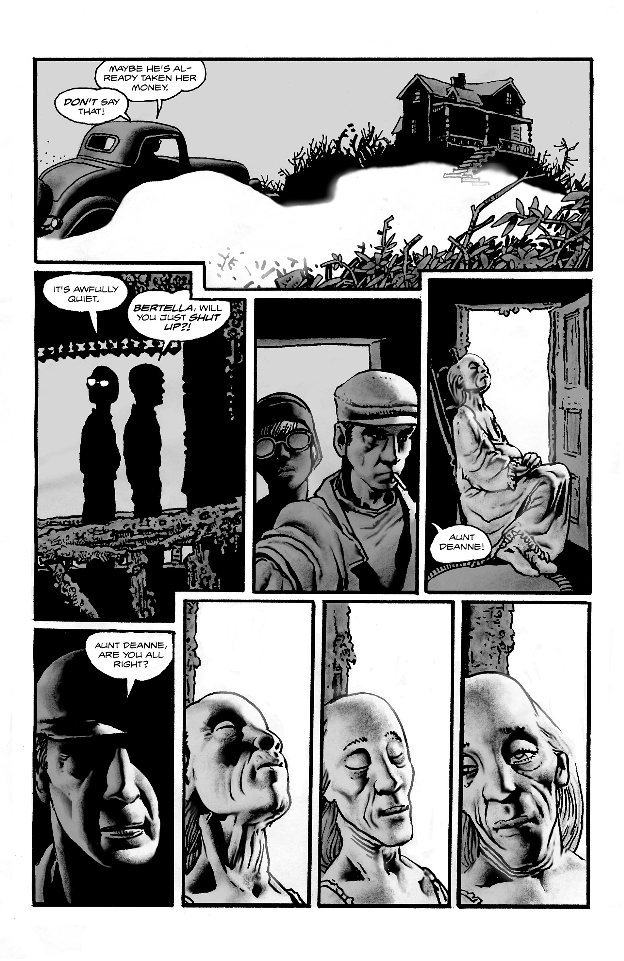 Read online Shadows on the Grave comic -  Issue #2 - 4