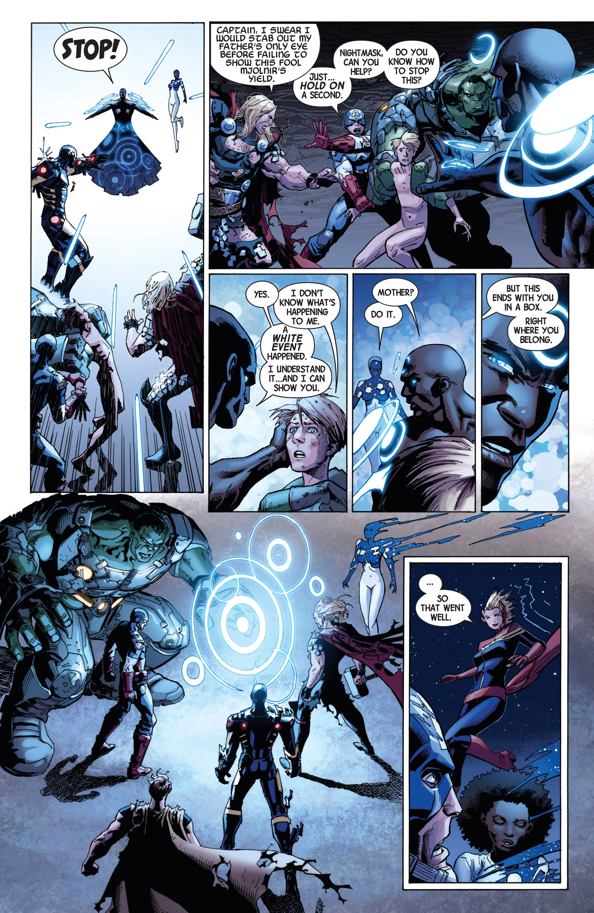 Read online Avengers (2013) comic -  Issue #8 - 17