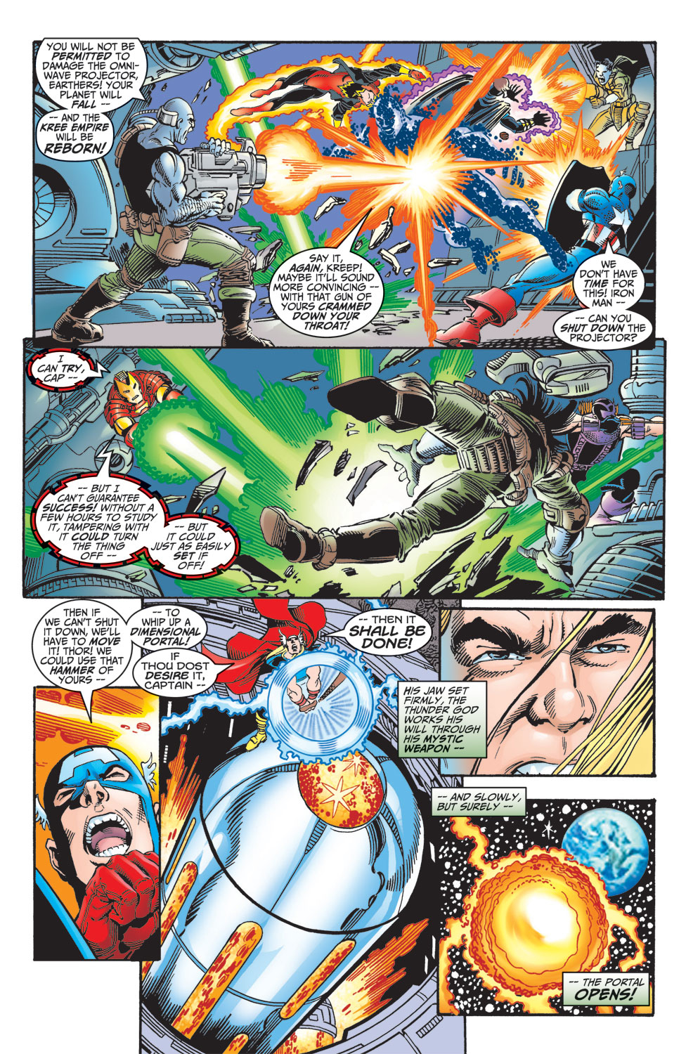 Read online Avengers (1998) comic -  Issue #7 - 17