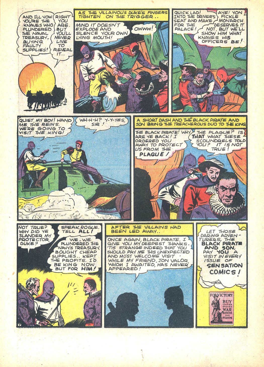 Read online Sensation (Mystery) Comics comic -  Issue #23 - 23