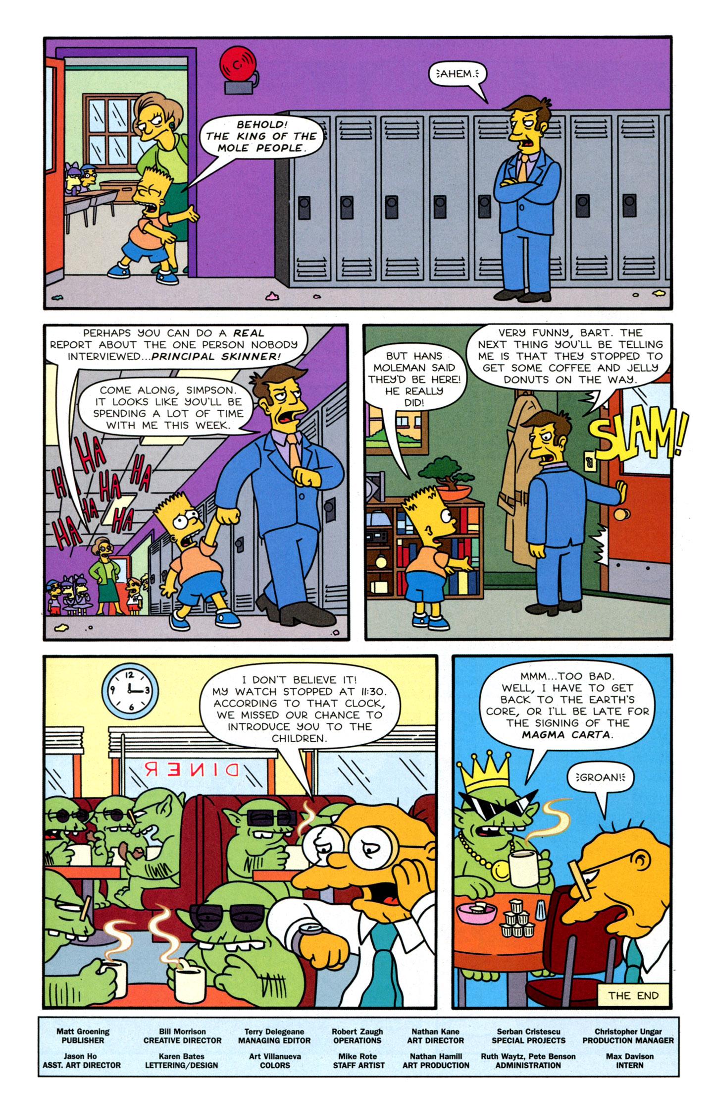 Read online Simpsons Comics Presents Bart Simpson comic -  Issue #63 - 31