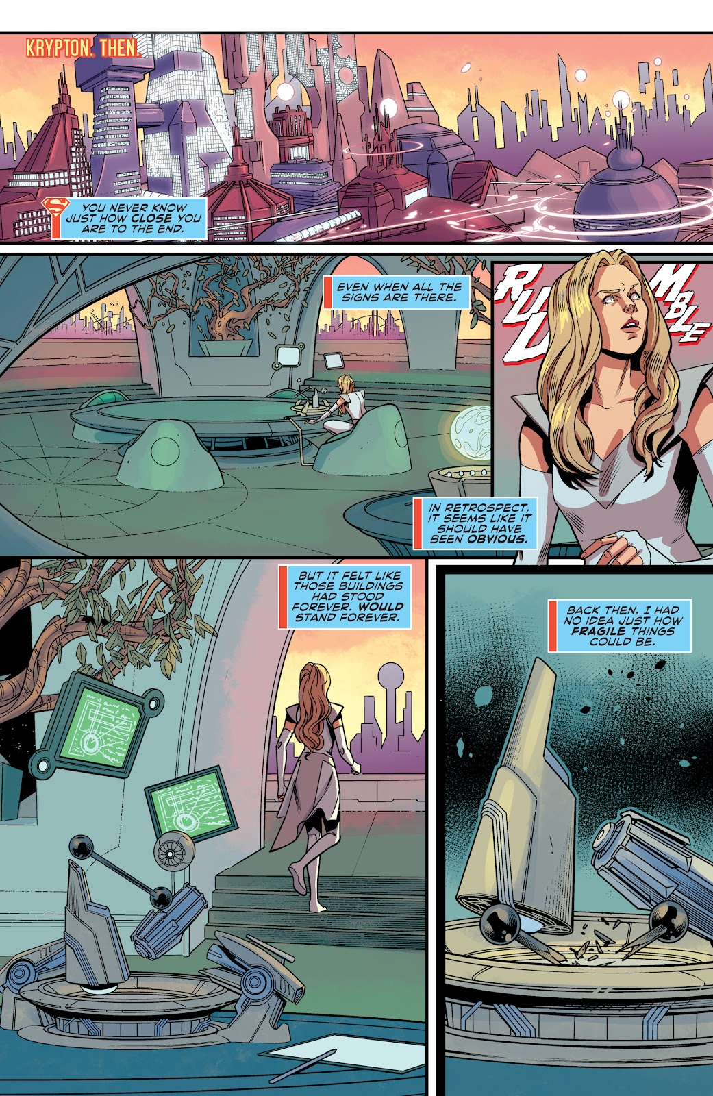 Read online Supergirl (2016) comic -  Issue #41 - 3