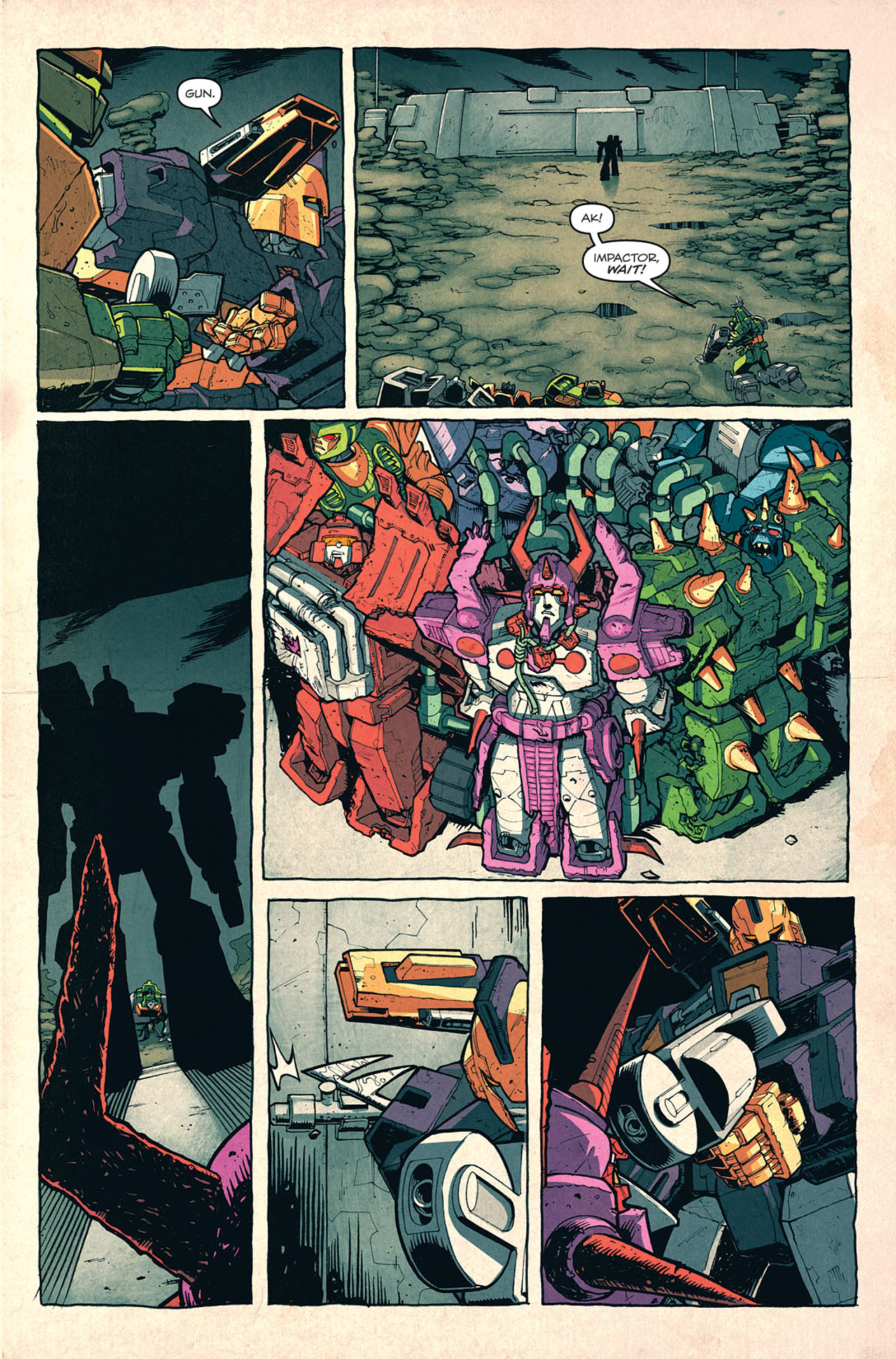 Read online Transformers: Last Stand of The Wreckers comic -  Issue #5 - 11