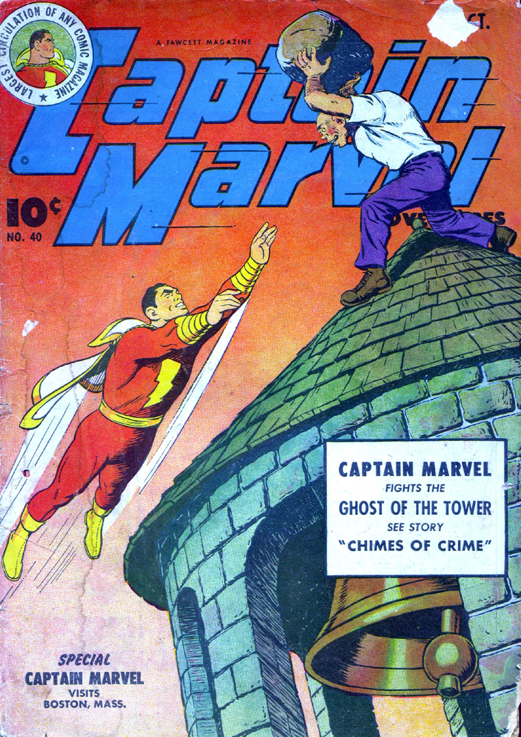 Captain Marvel Adventures issue 40 - Page 1