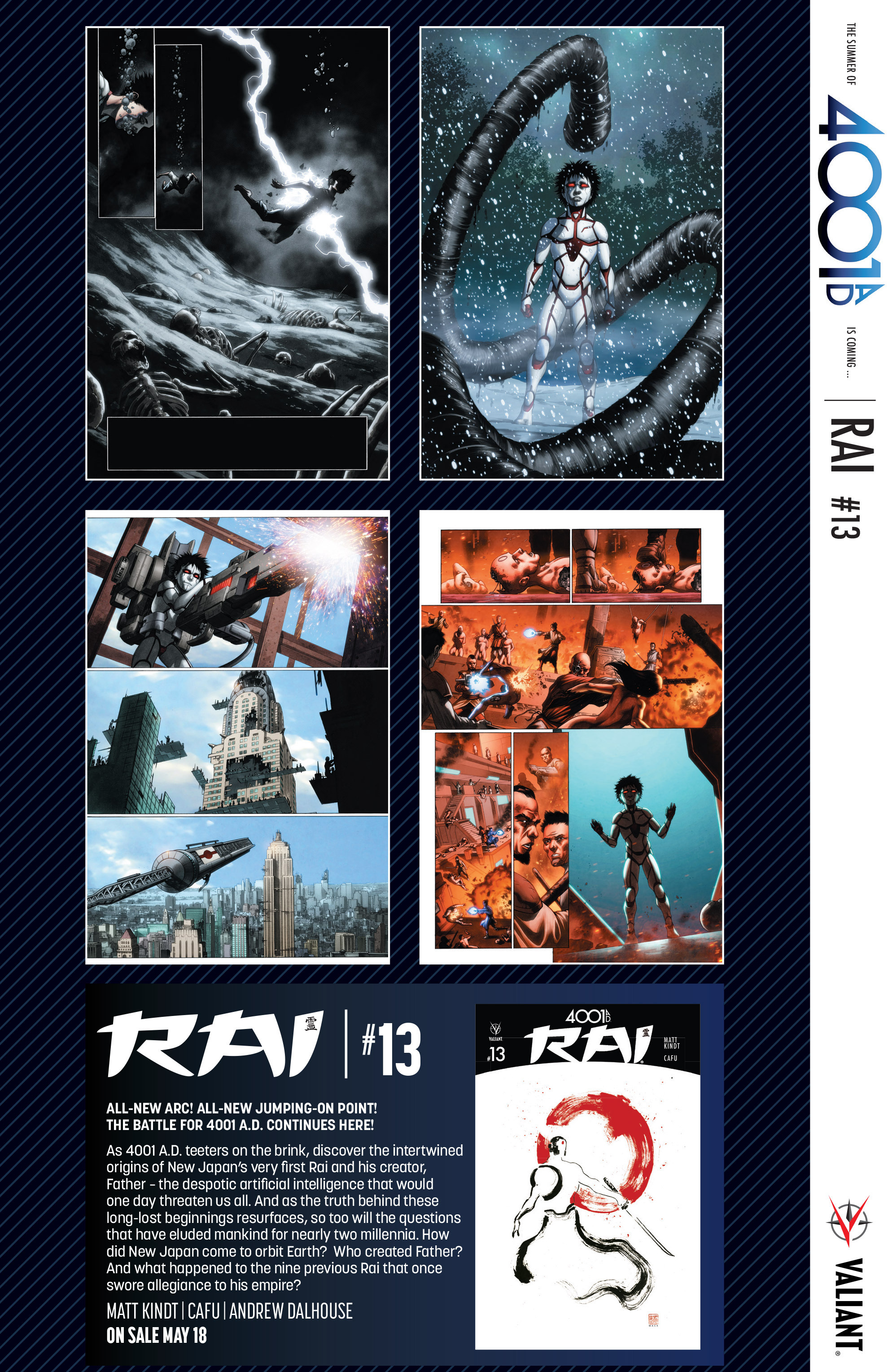 Read online 4001 A.D. comic -  Issue #1 - 33
