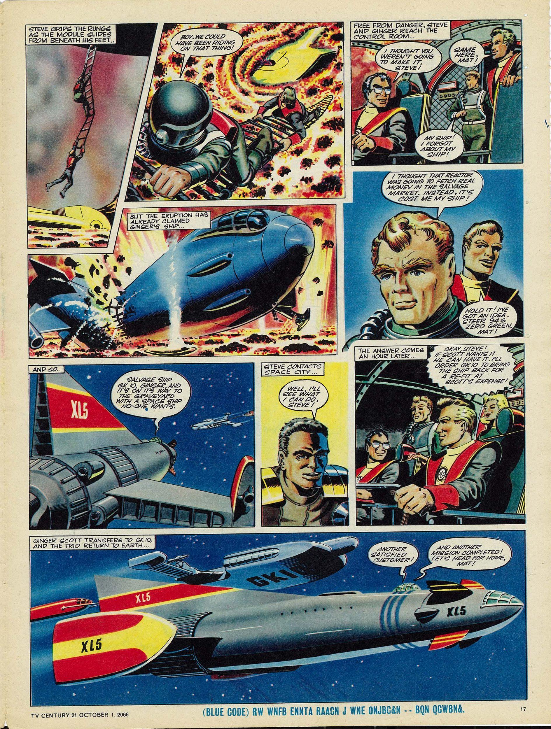 Read online TV Century 21 (TV 21) comic -  Issue #89 - 16