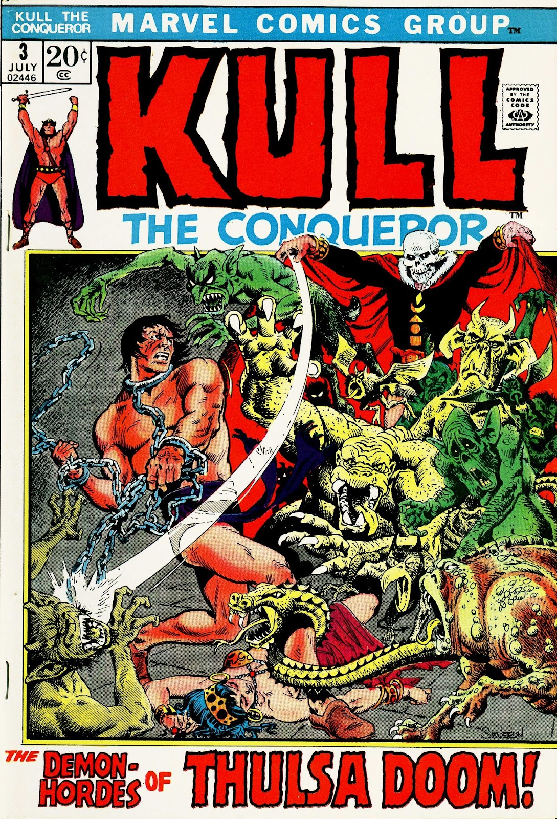 Kull, the Conqueror (1971) 3 Page 1