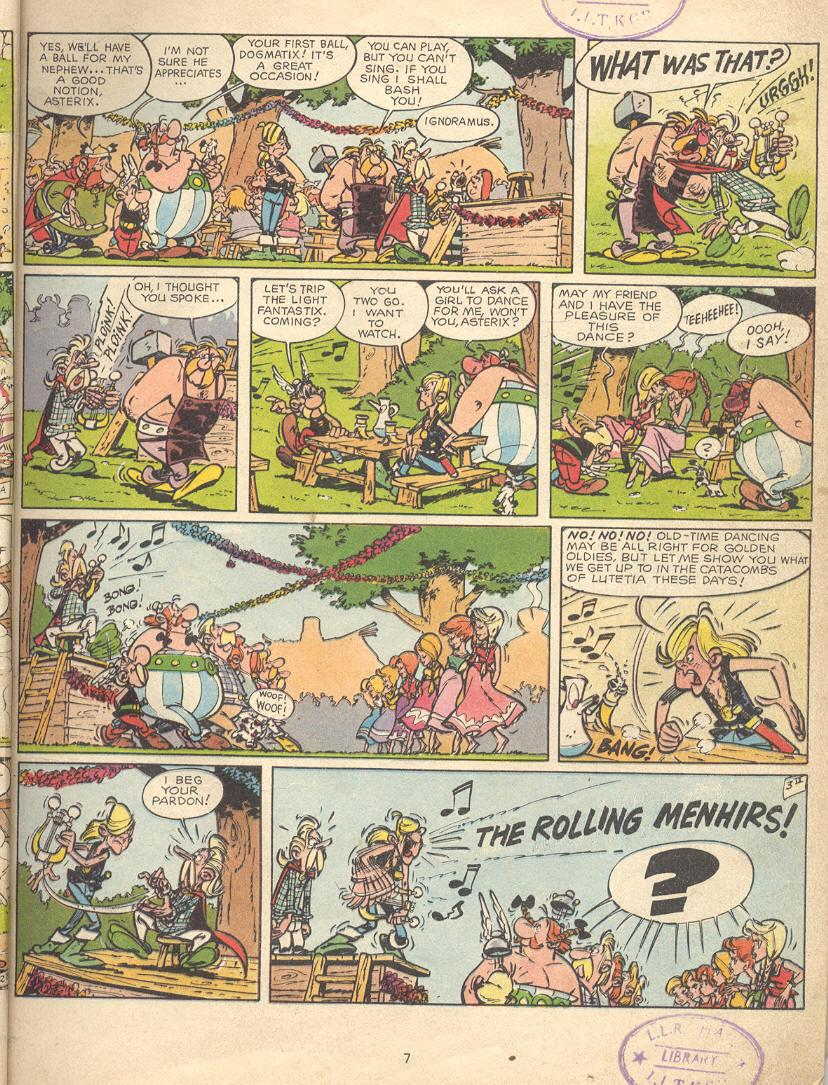 Read online Asterix comic -  Issue #9 - 4