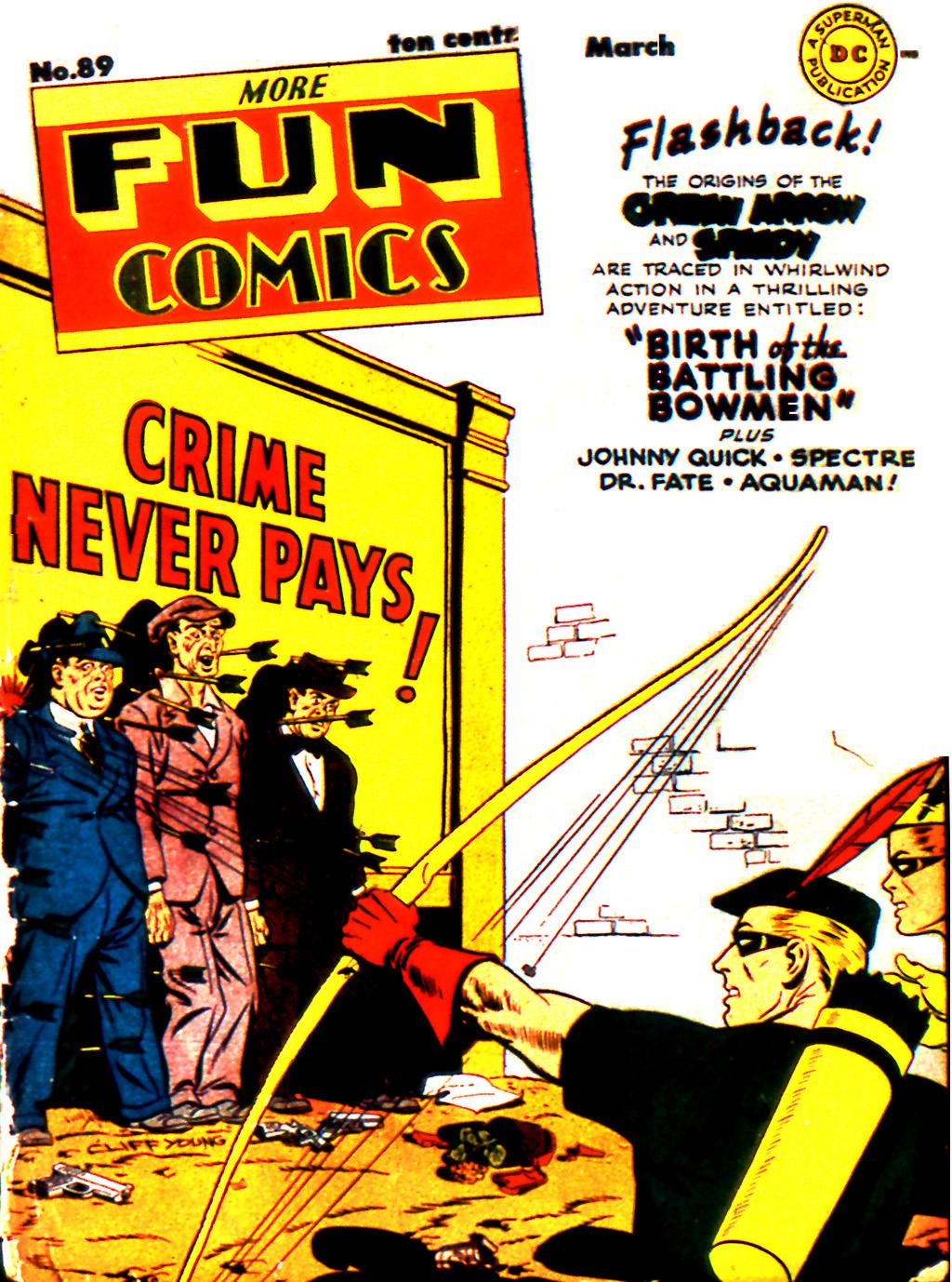 More Fun Comics 89 Page 1