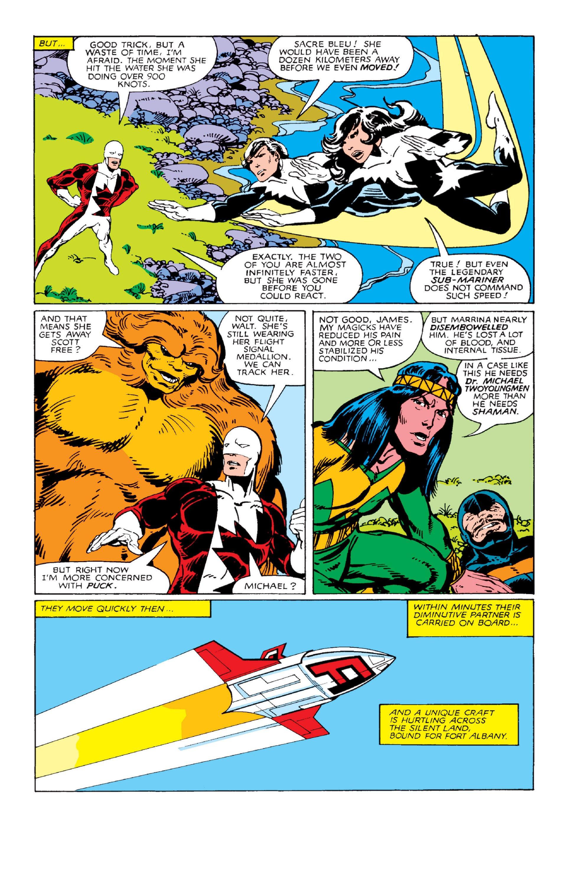 Read online Alpha Flight (1983) comic -  Issue #2 - 9