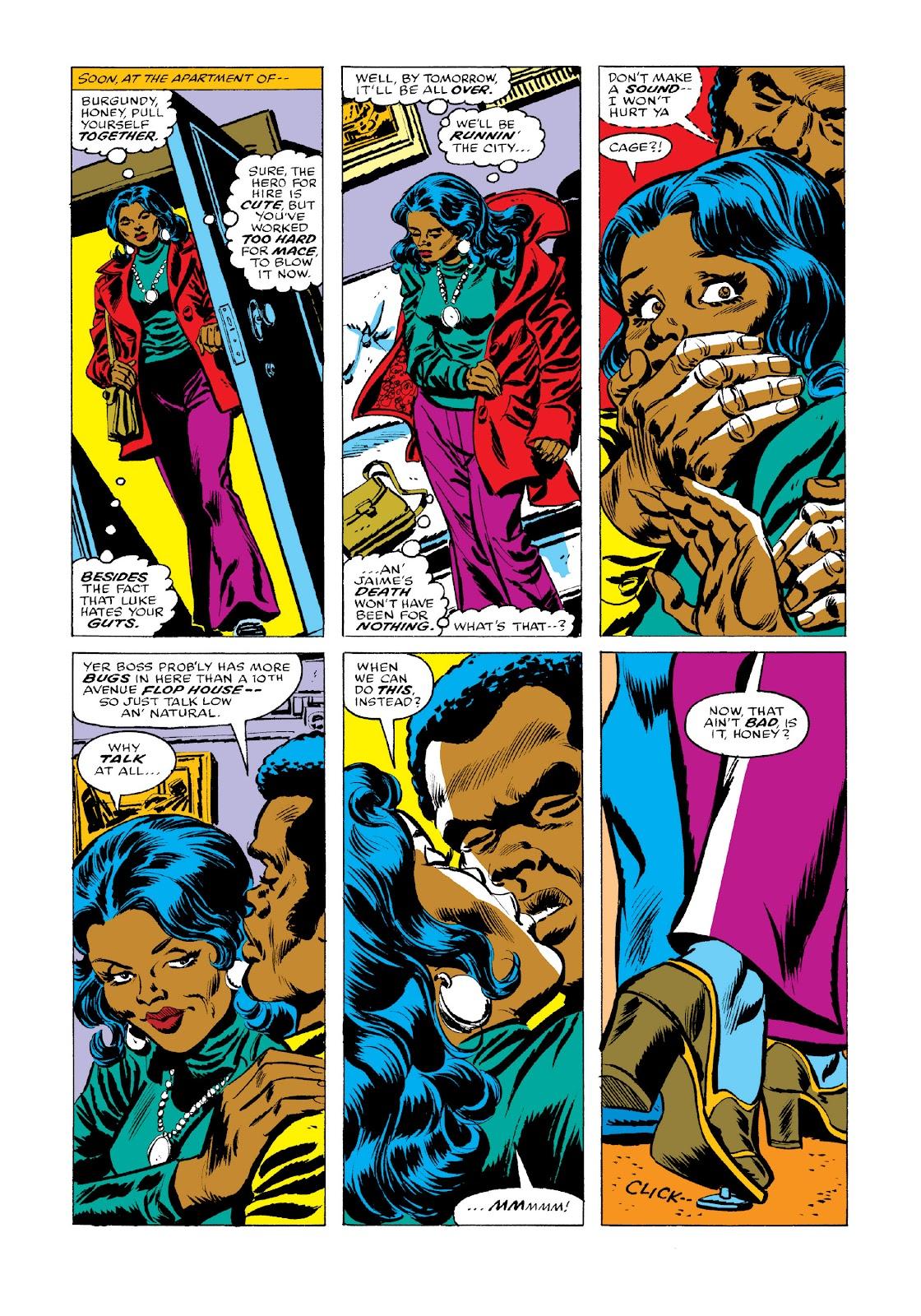 Read online Marvel Masterworks: Luke Cage, Power Man comic -  Issue # TPB 3 (Part 3) - 54